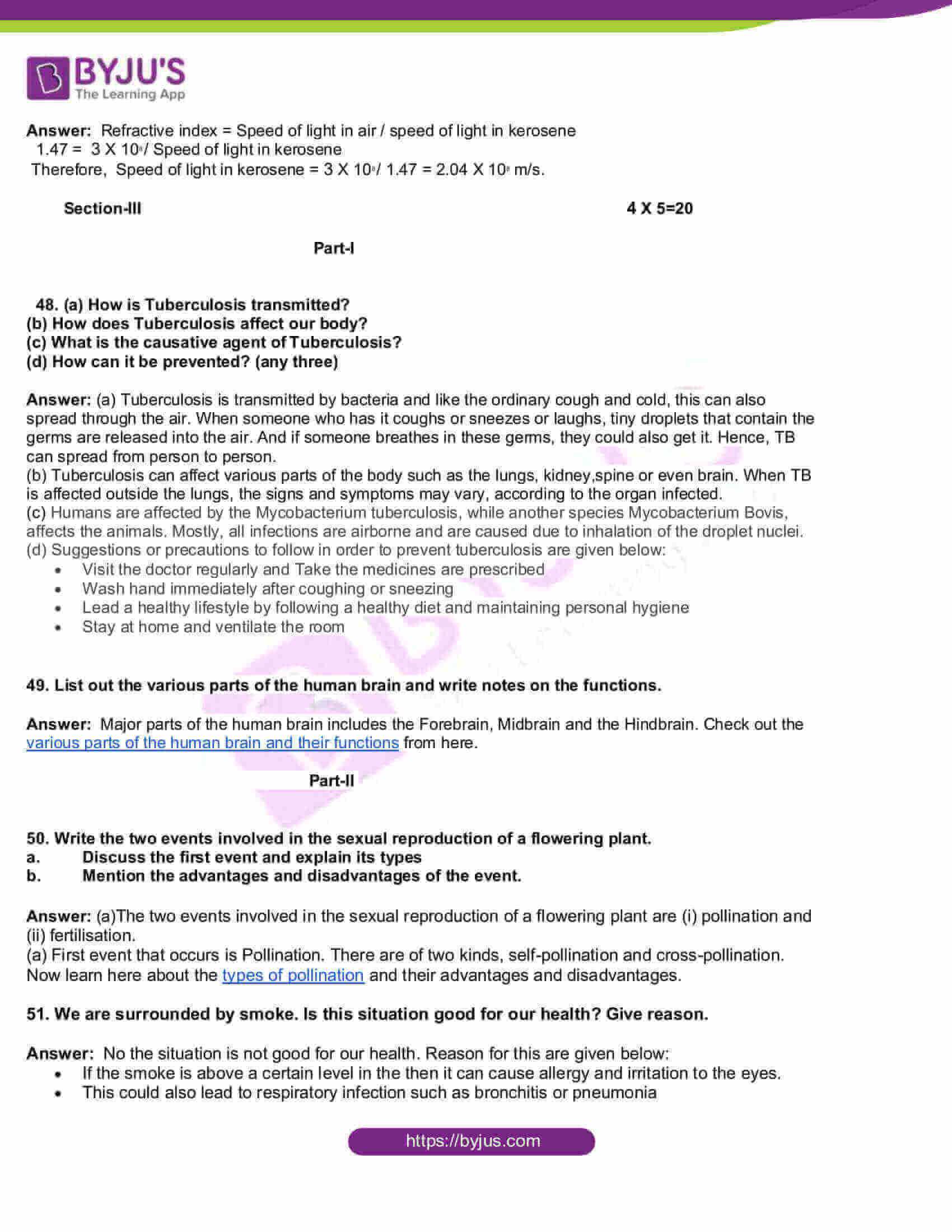tn board class 10 science 2018 question and solutions 13