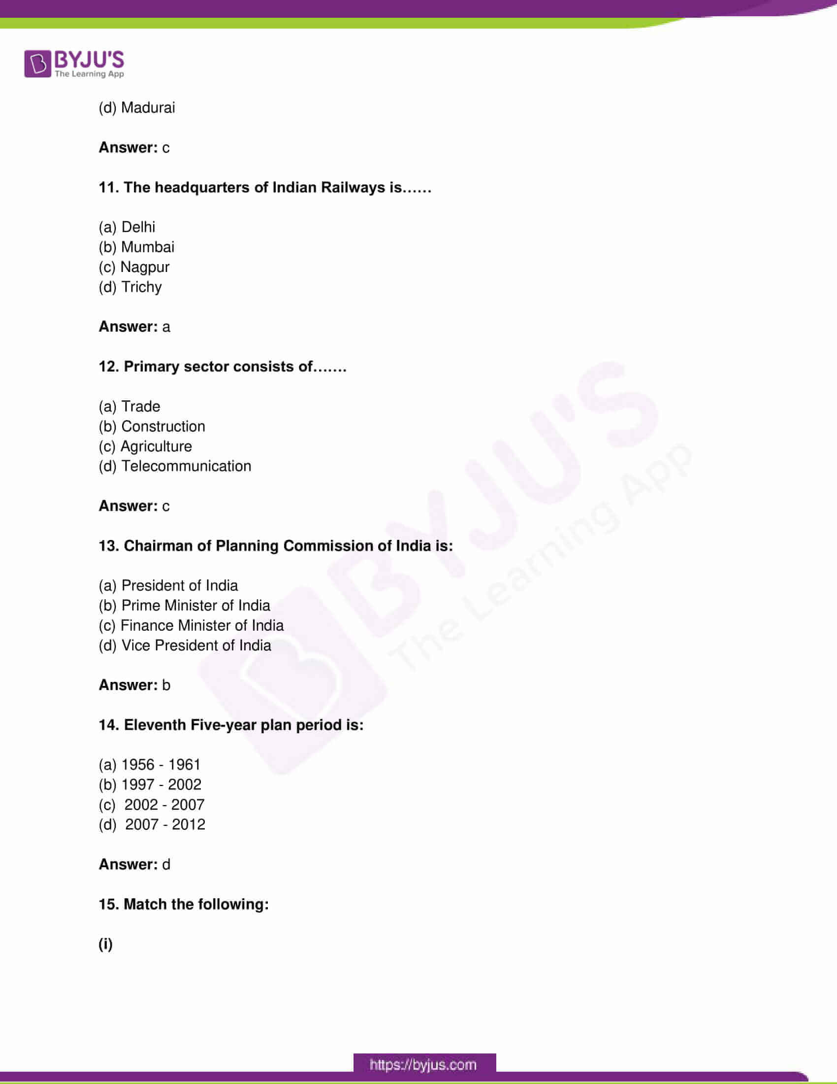 tn board class 10 social science 2015 questions and solutions 03