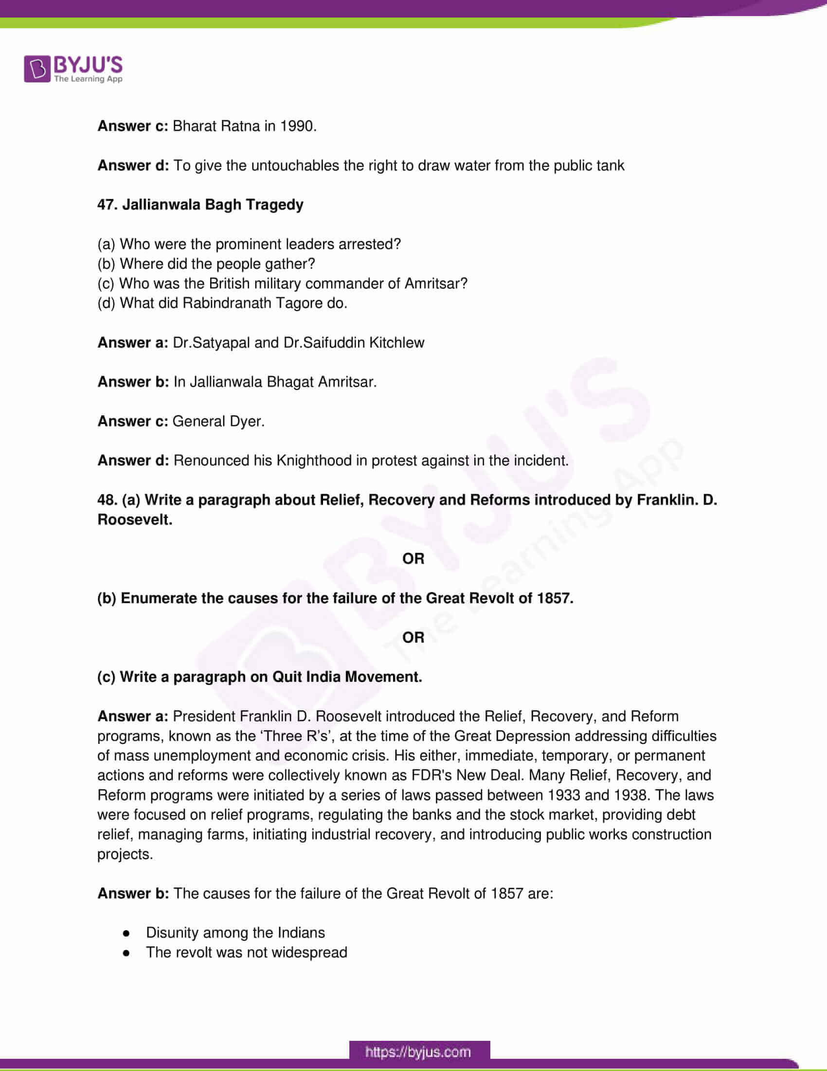 tn board class 10 social science 2015 questions and solutions 12