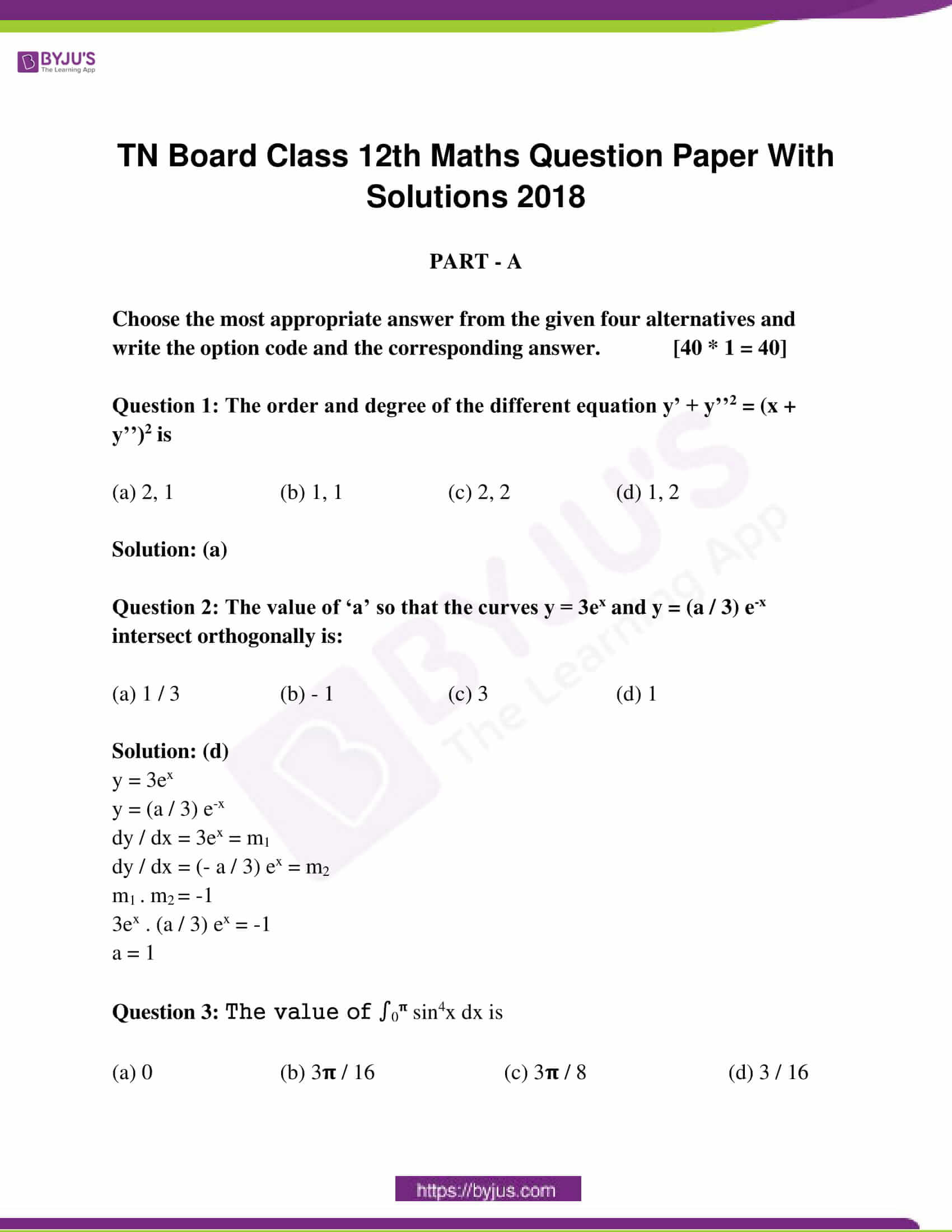 tn board class 12 questions and answers maths 2018 01