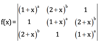 WBJEE 2018 Maths Previous Year Paper with Solutions Q64