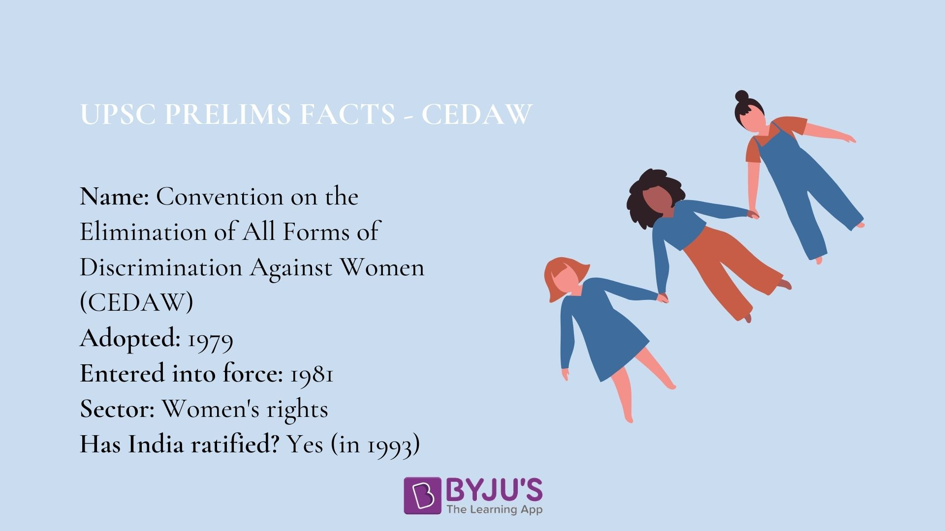 Prelims Facts for CEDAW