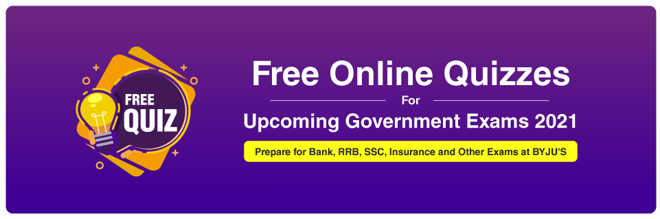 free online quiz for IBPS, SSC and other government exams