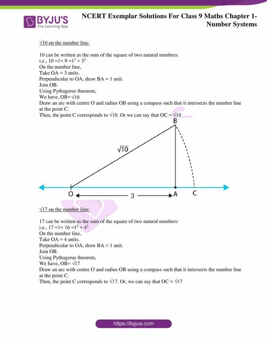 NCERT Exemplar Solutions for Class 9 Maths Chapter 1 10