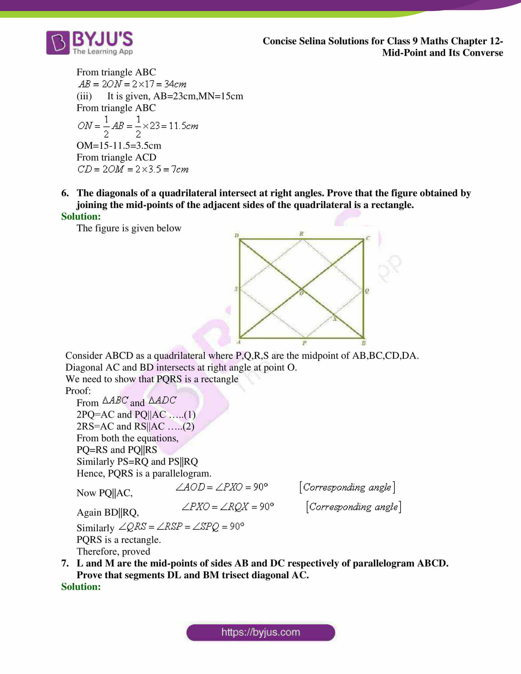 selina Solutions for Class 9 Maths Chapter 12 04