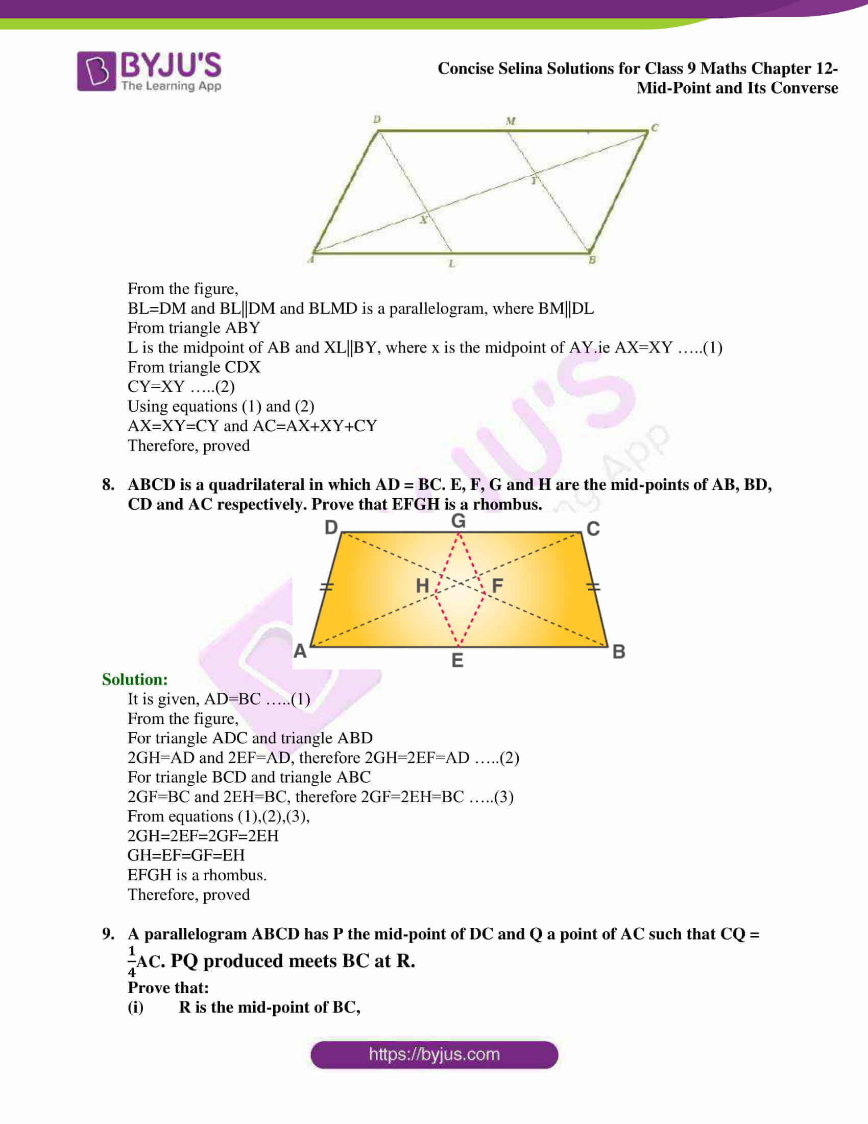 selina Solutions for Class 9 Maths Chapter 12 05