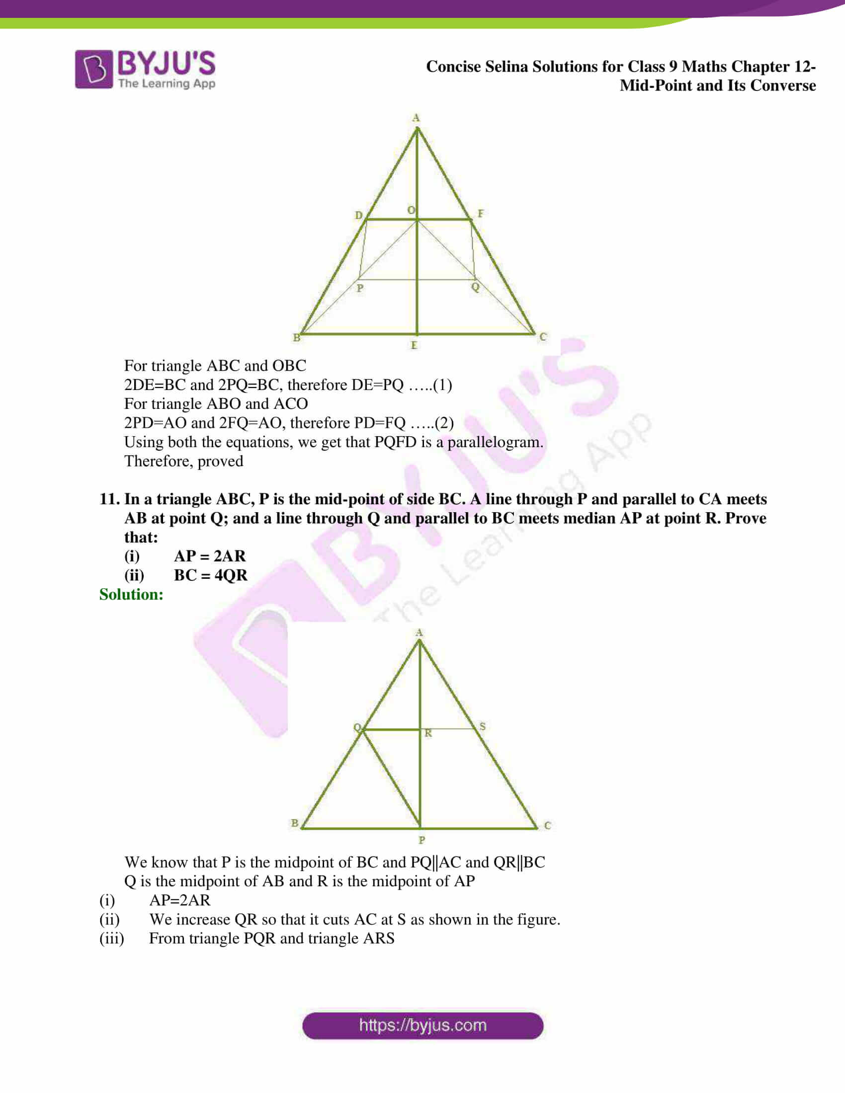 selina Solutions for Class 9 Maths Chapter 12 07