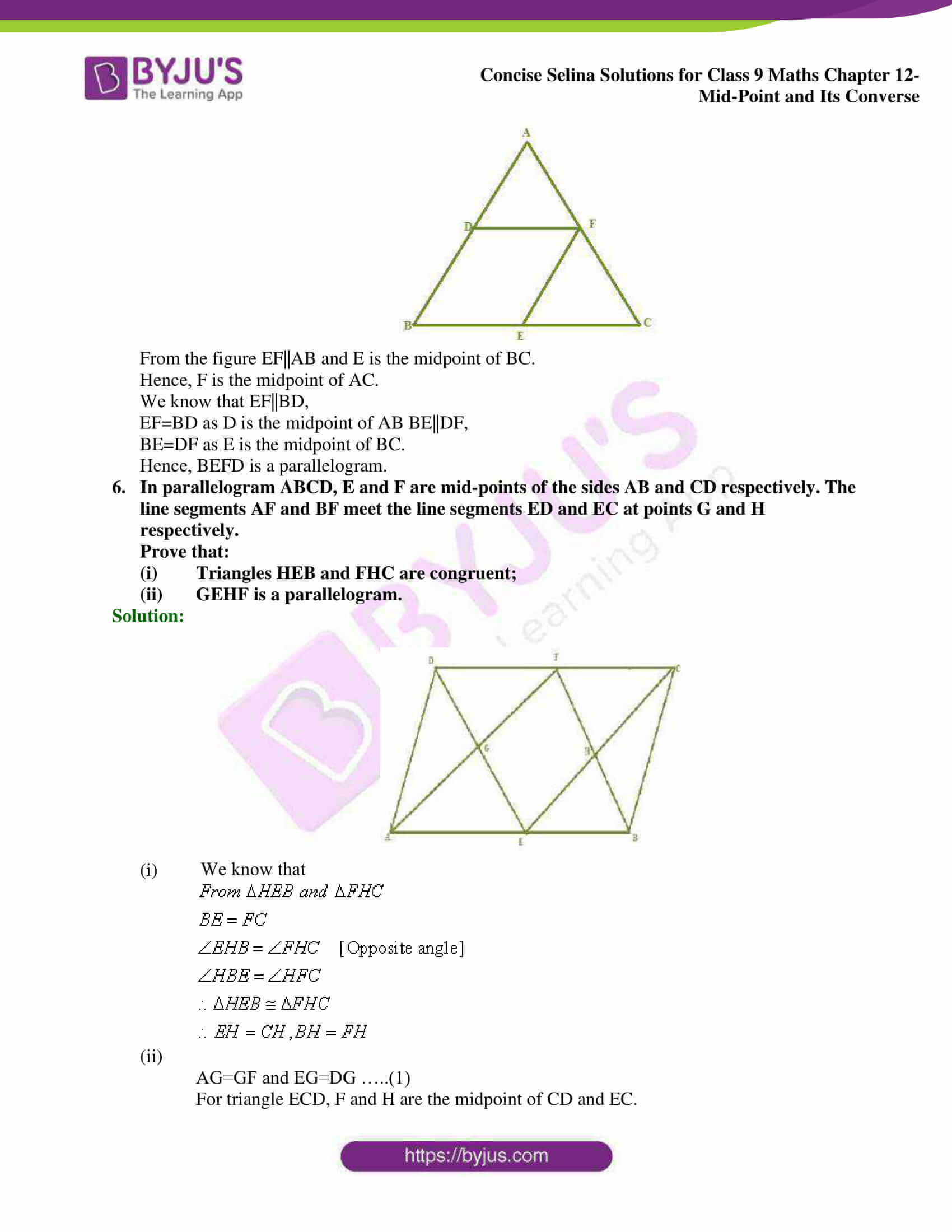 selina Solutions for Class 9 Maths Chapter 12 16