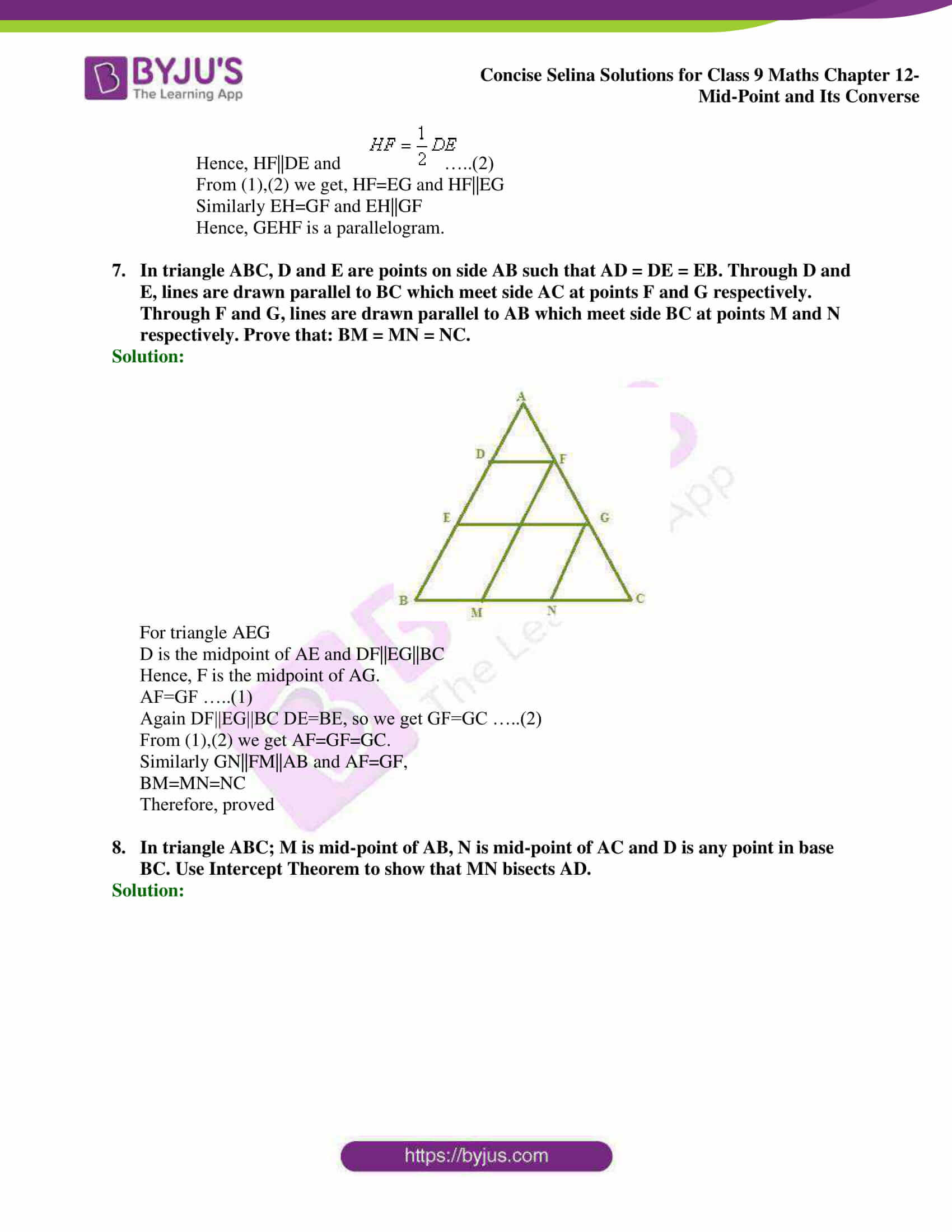 selina Solutions for Class 9 Maths Chapter 12 17