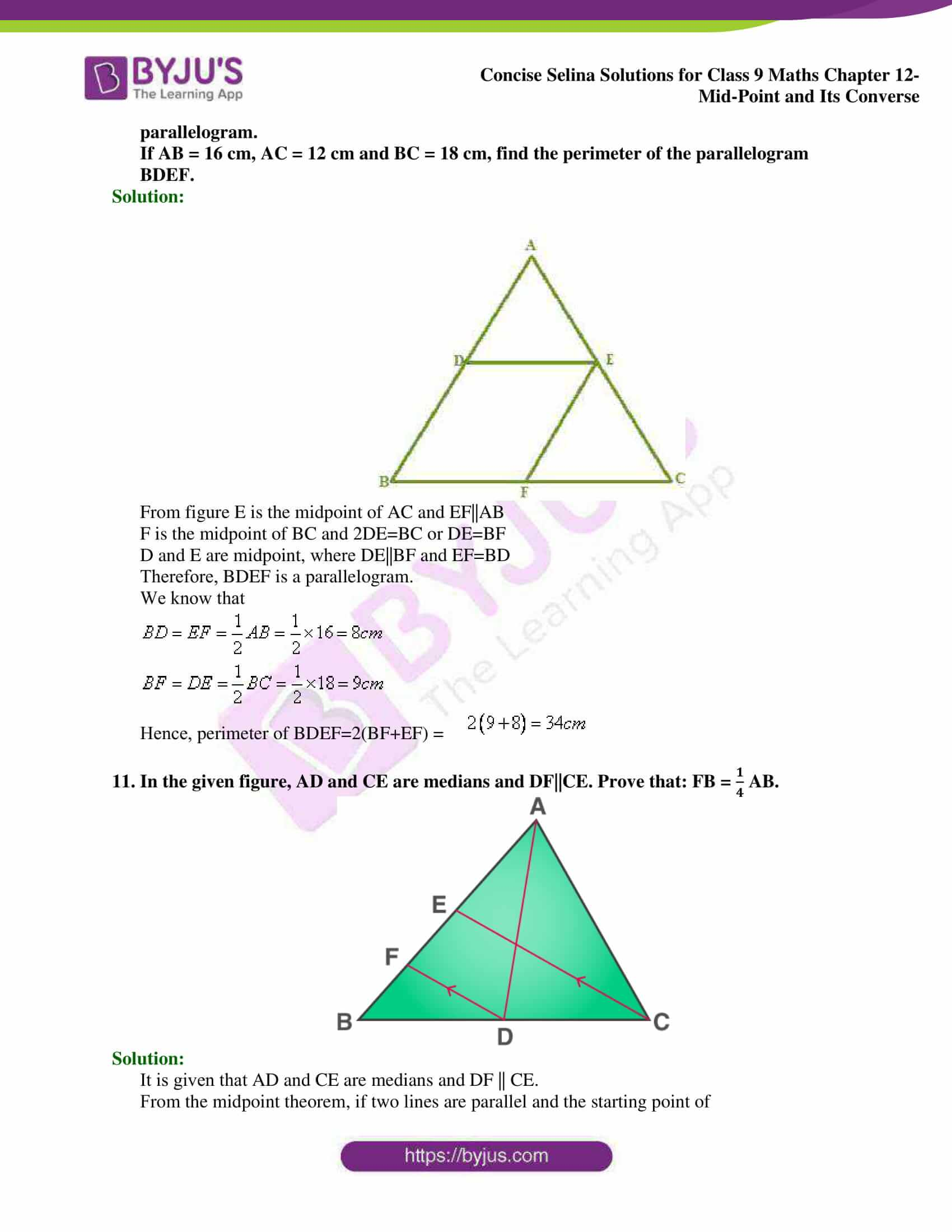 selina Solutions for Class 9 Maths Chapter 12 19