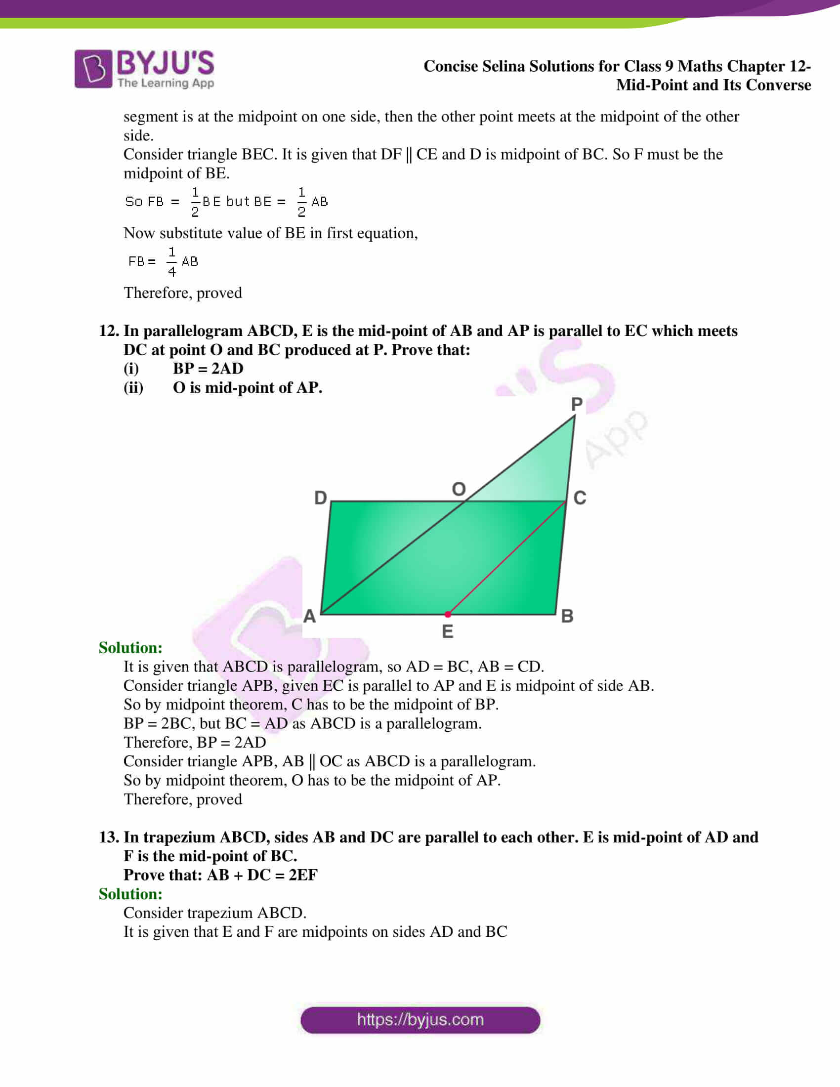 selina Solutions for Class 9 Maths Chapter 12 20