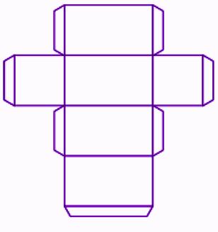 Cuboid net 2