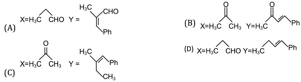KVPY-SA 2017 Chemistry Paper with answers Q17