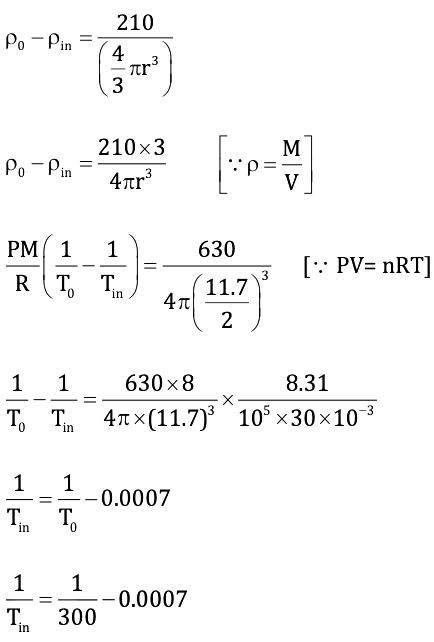 KVPY-SA 2019 Physics Paper with Solutions Q19