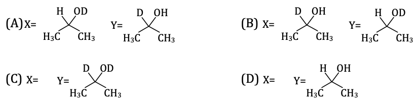 KVPY-SX 2017 Chemistry Paper with answers Q22