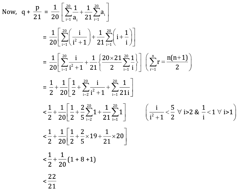 KVPY-SX 2017 Mathematics Paper with answers Q20