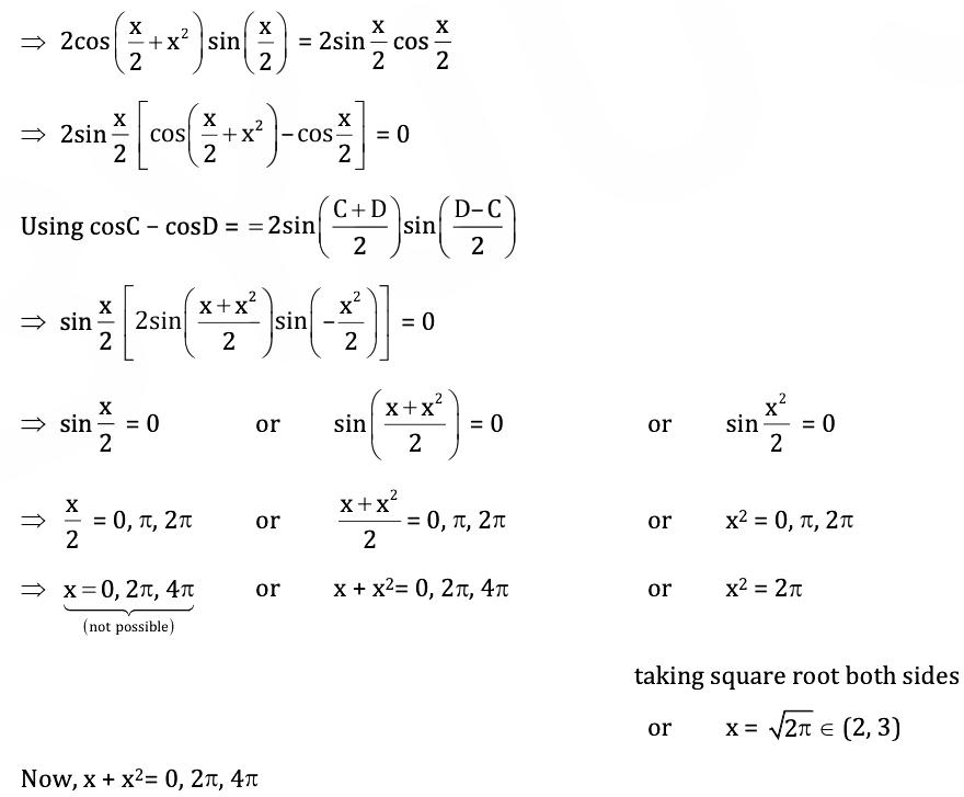 KVPY-SX 2018 Mathematics Paper with Solutions Q24