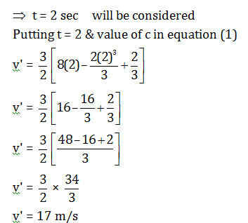 KVPY-SX 2019 Physics Solved Question Paper