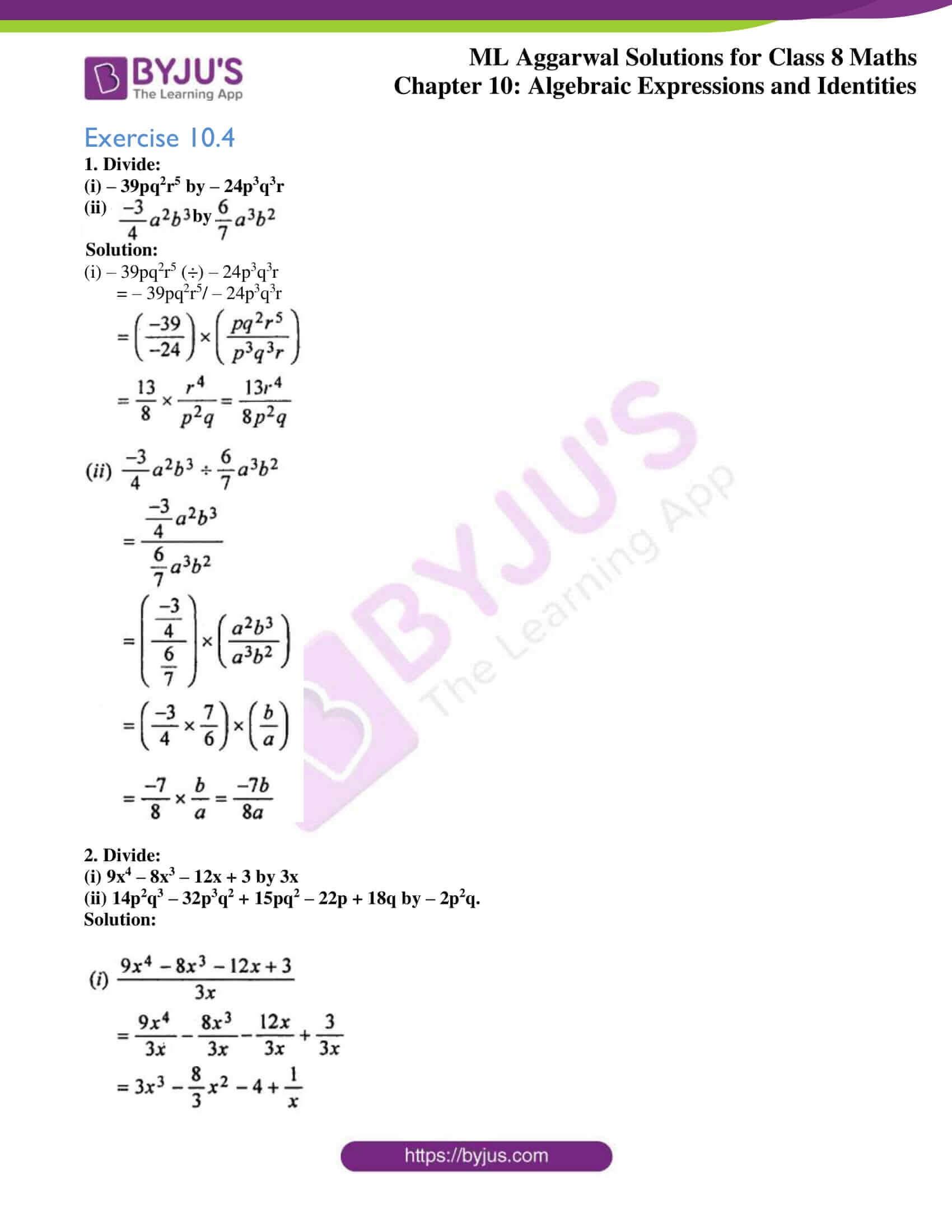 ml aggarwal sol mathematics class 8 ch 10 13