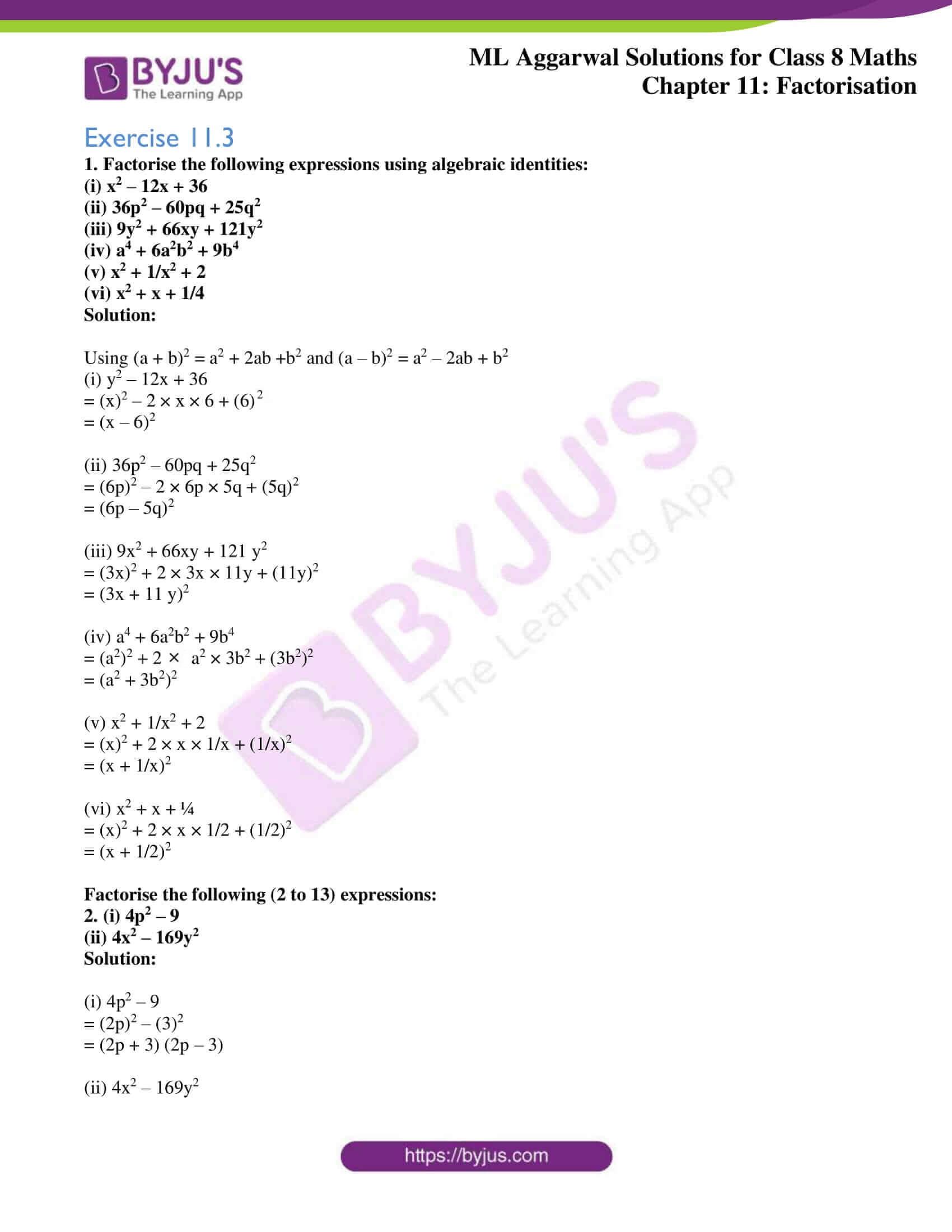 ml aggarwal sol mathematics class 8 ch 11 07