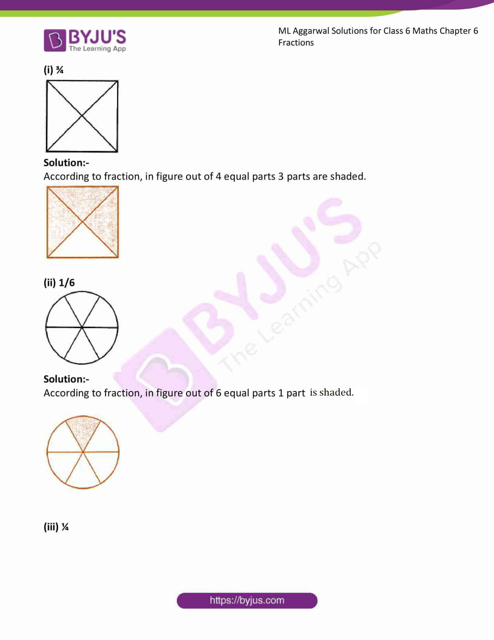 ml aggarwal solutions for class 6 maths chapter 6 3