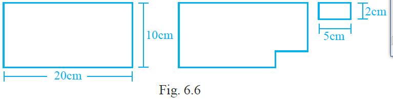 NCERT Exemplar Class 6 Maths Solutions Chapter 6 Mensuration Iamge 3