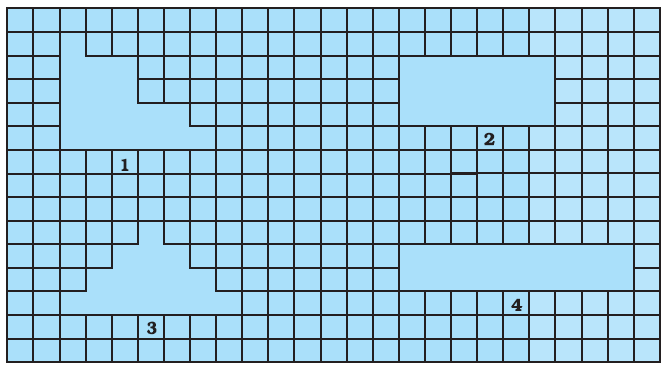 NCERT Exemplar Class 7 Maths Solutions Chapter 9 Perimeter and Area Image 1