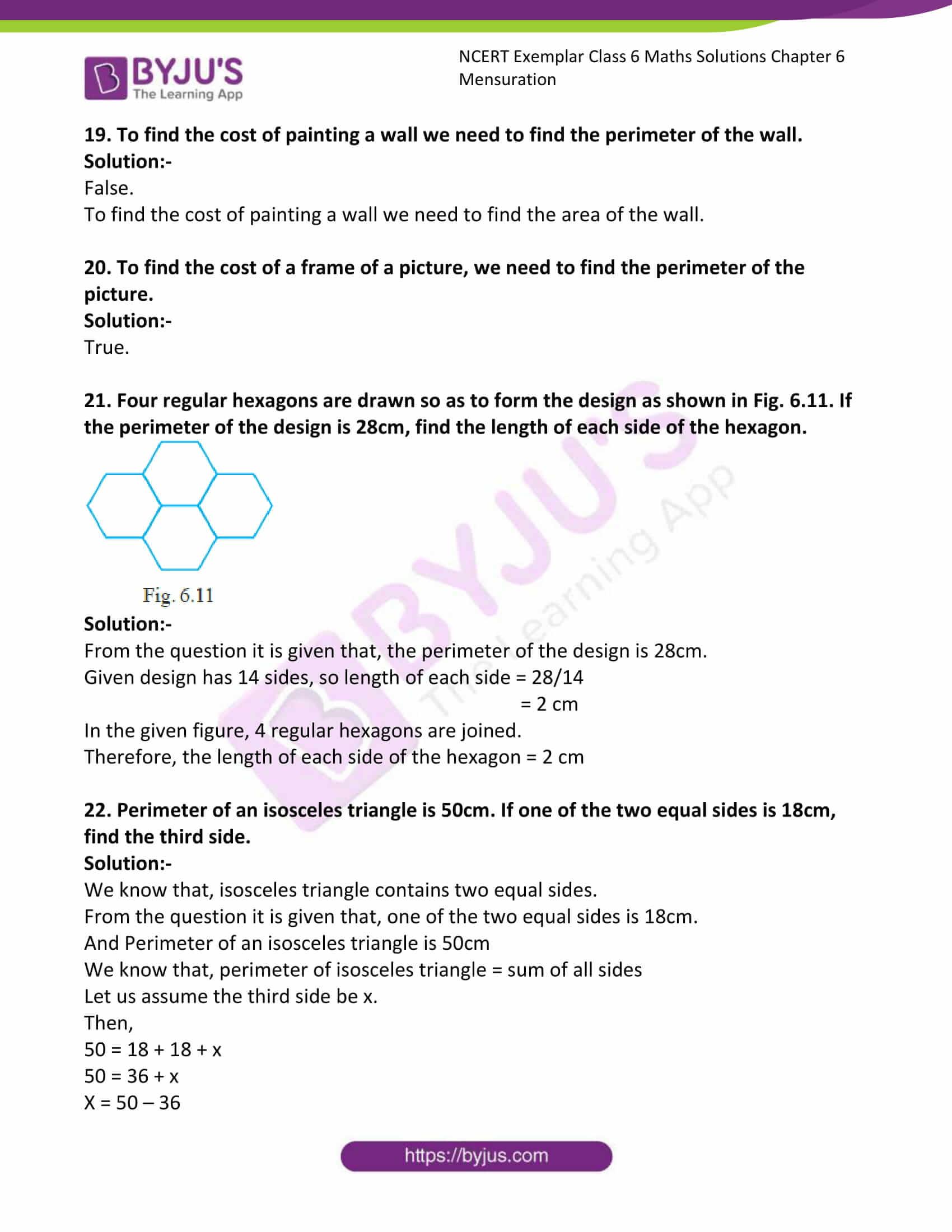 ncert exemplar class 6 maths solutions chapter 6 11