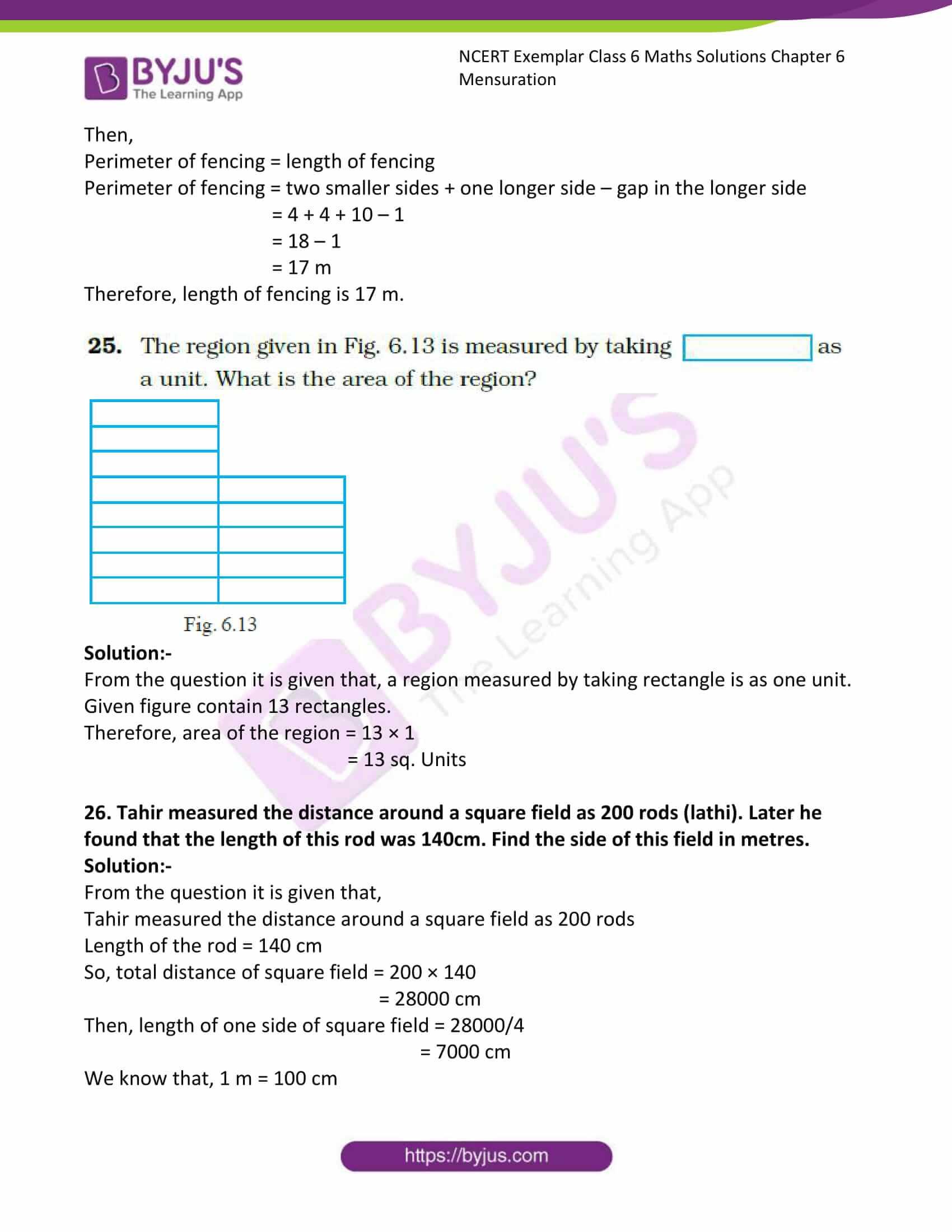 ncert exemplar class 6 maths solutions chapter 6 13