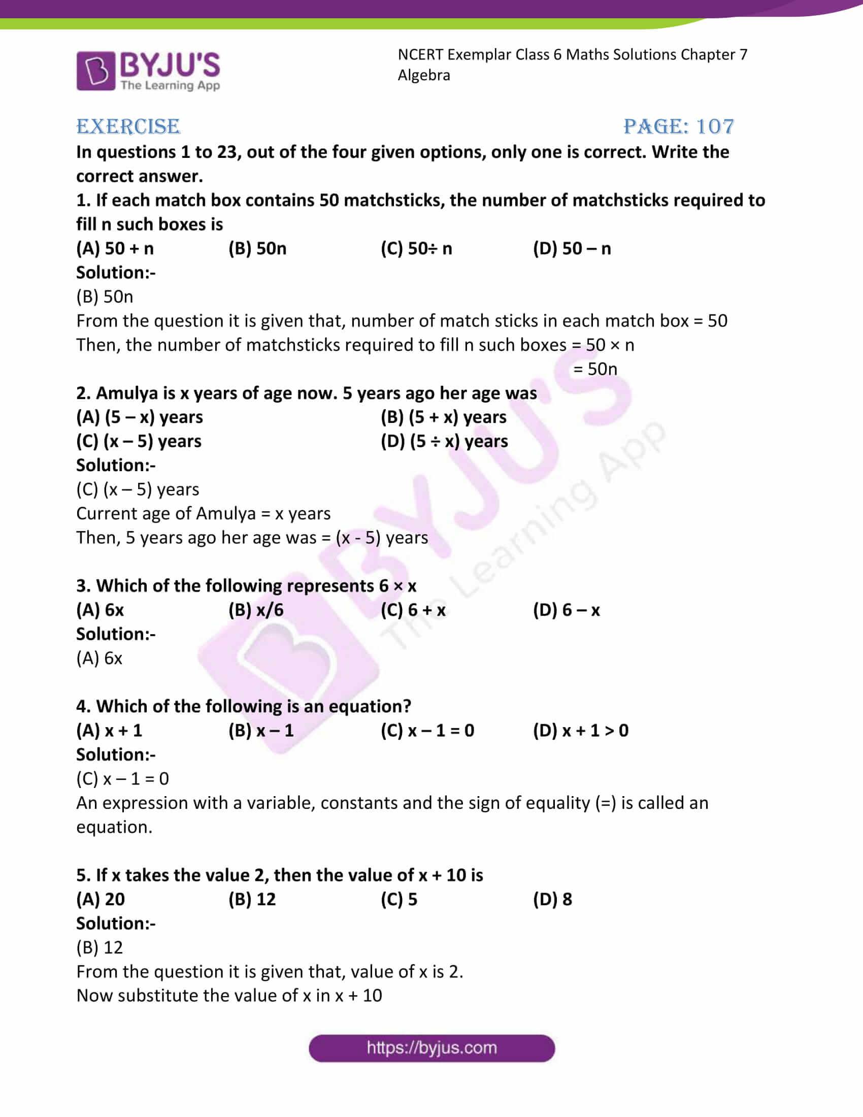 ncert exemplar class 6 maths solutions chapter 7 01