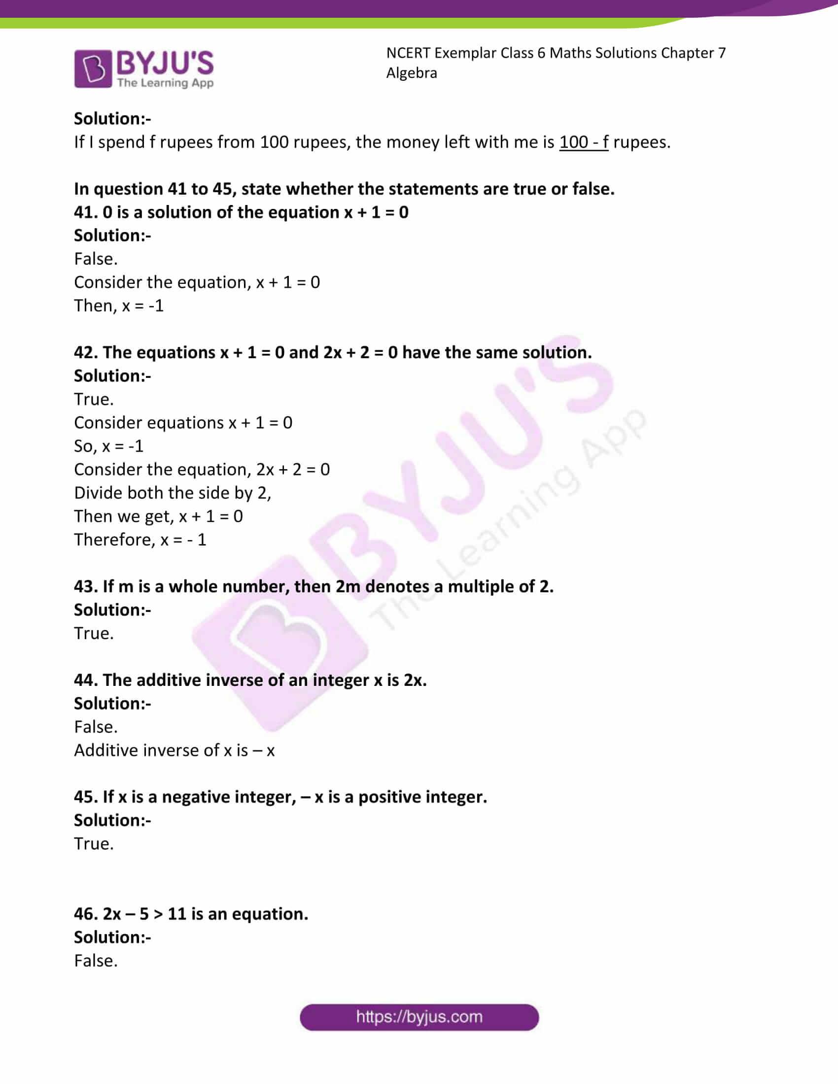 ncert exemplar class 6 maths solutions chapter 7 10