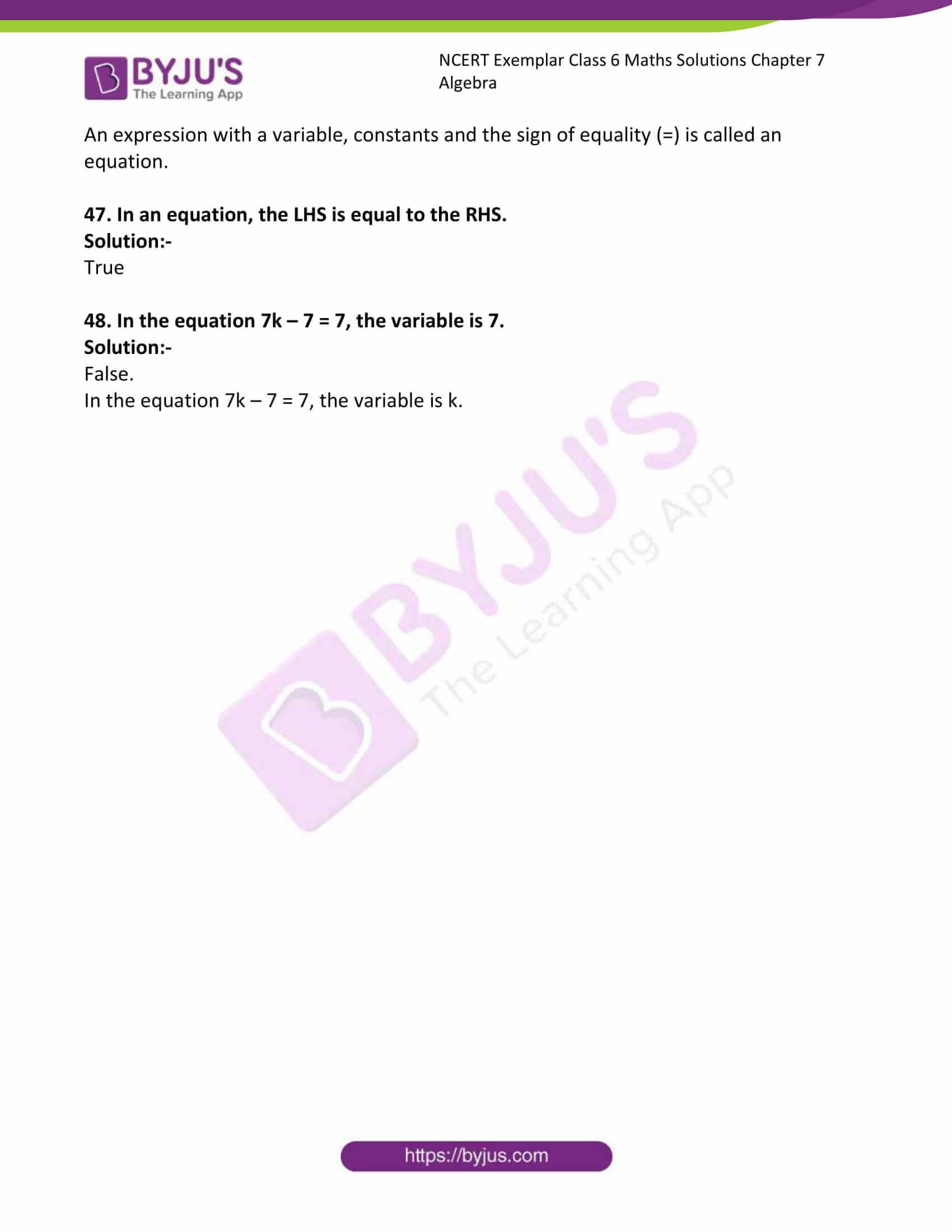 ncert exemplar class 6 maths solutions chapter 7 11