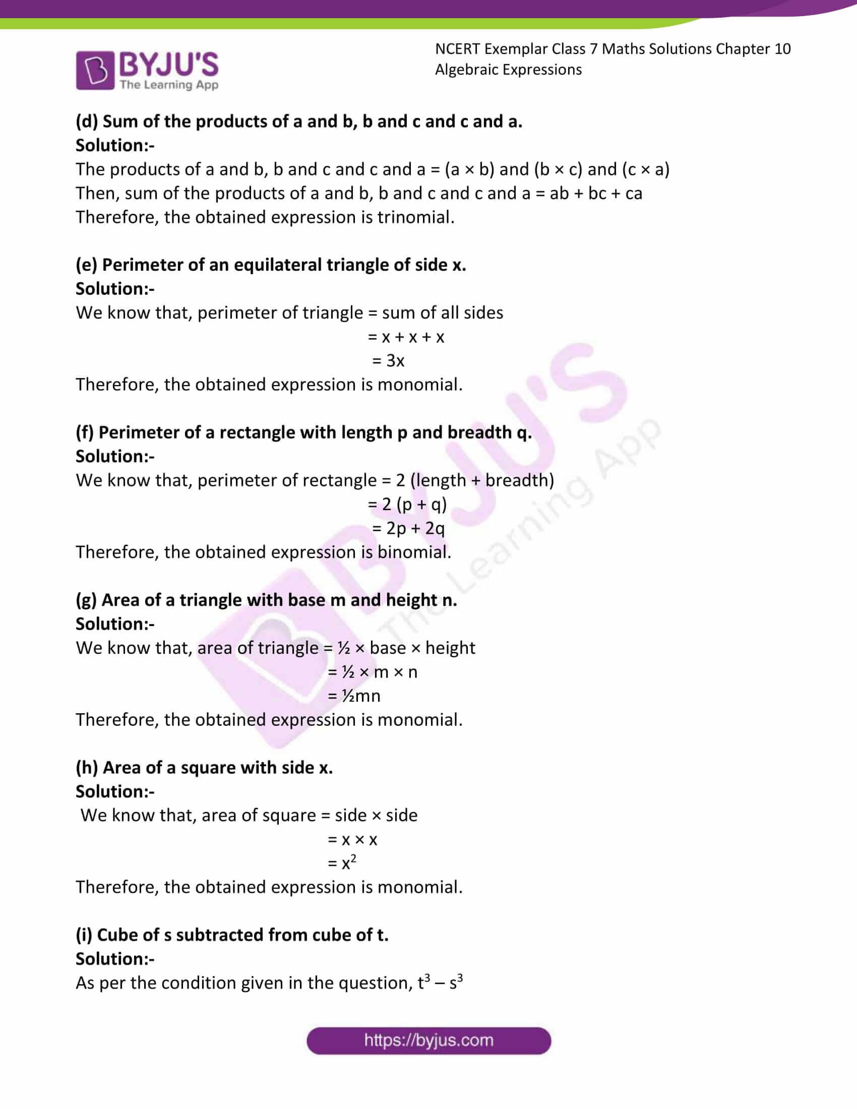 ncert exemplar class 7 maths solutions chapter 10 12