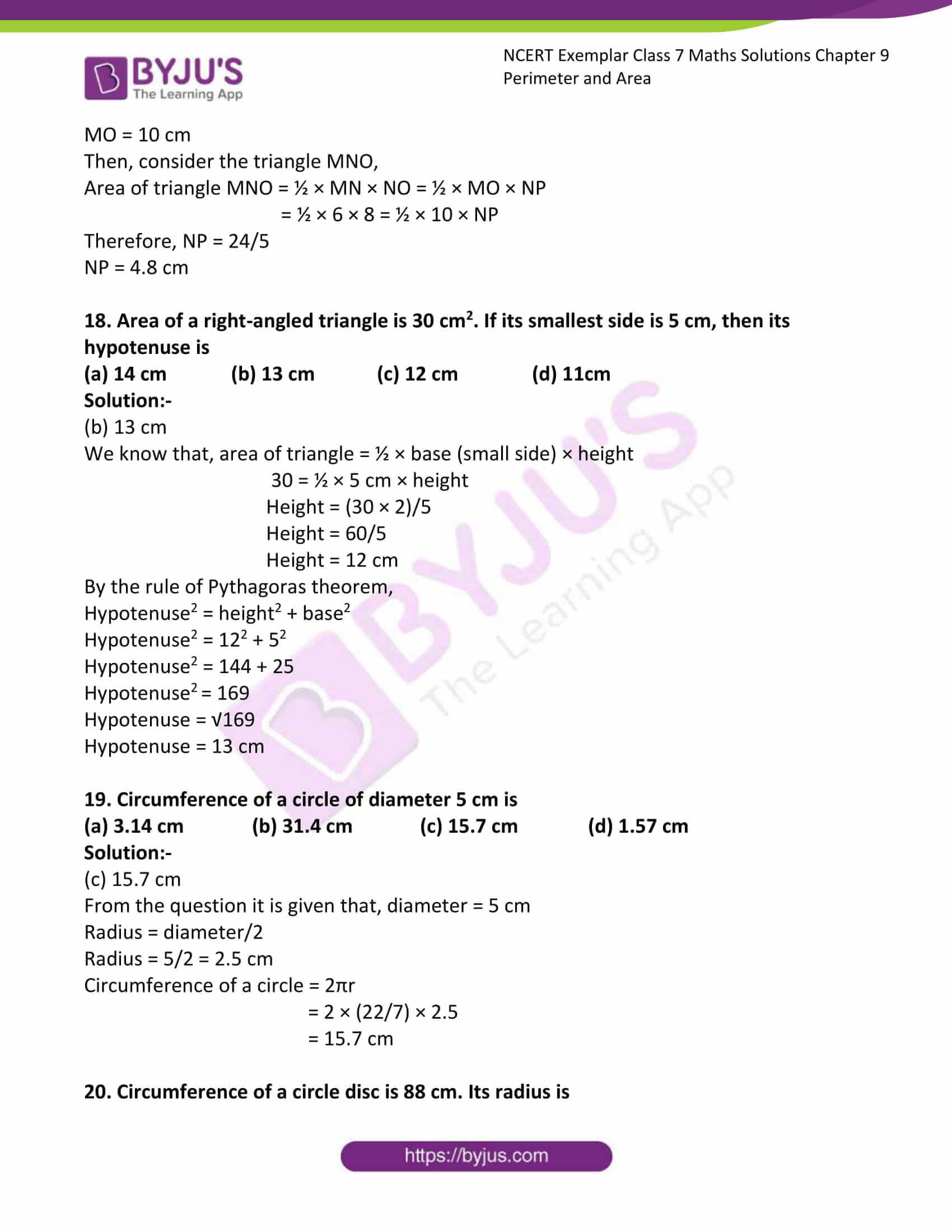 ncert exemplar class 7 maths solutions chapter 9 11