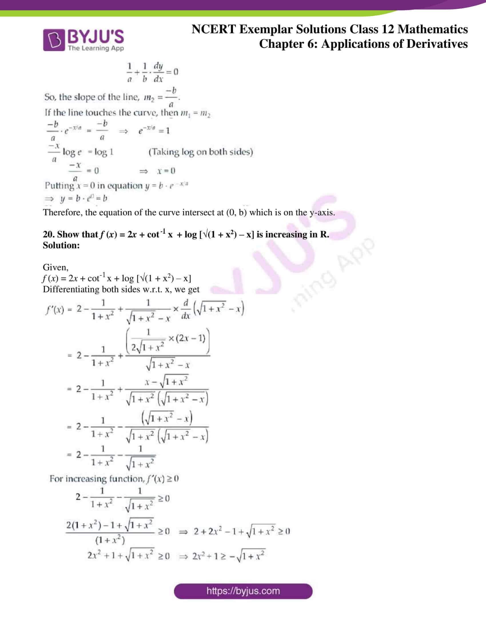 ncert exemplar sol class 12 math ch6 11