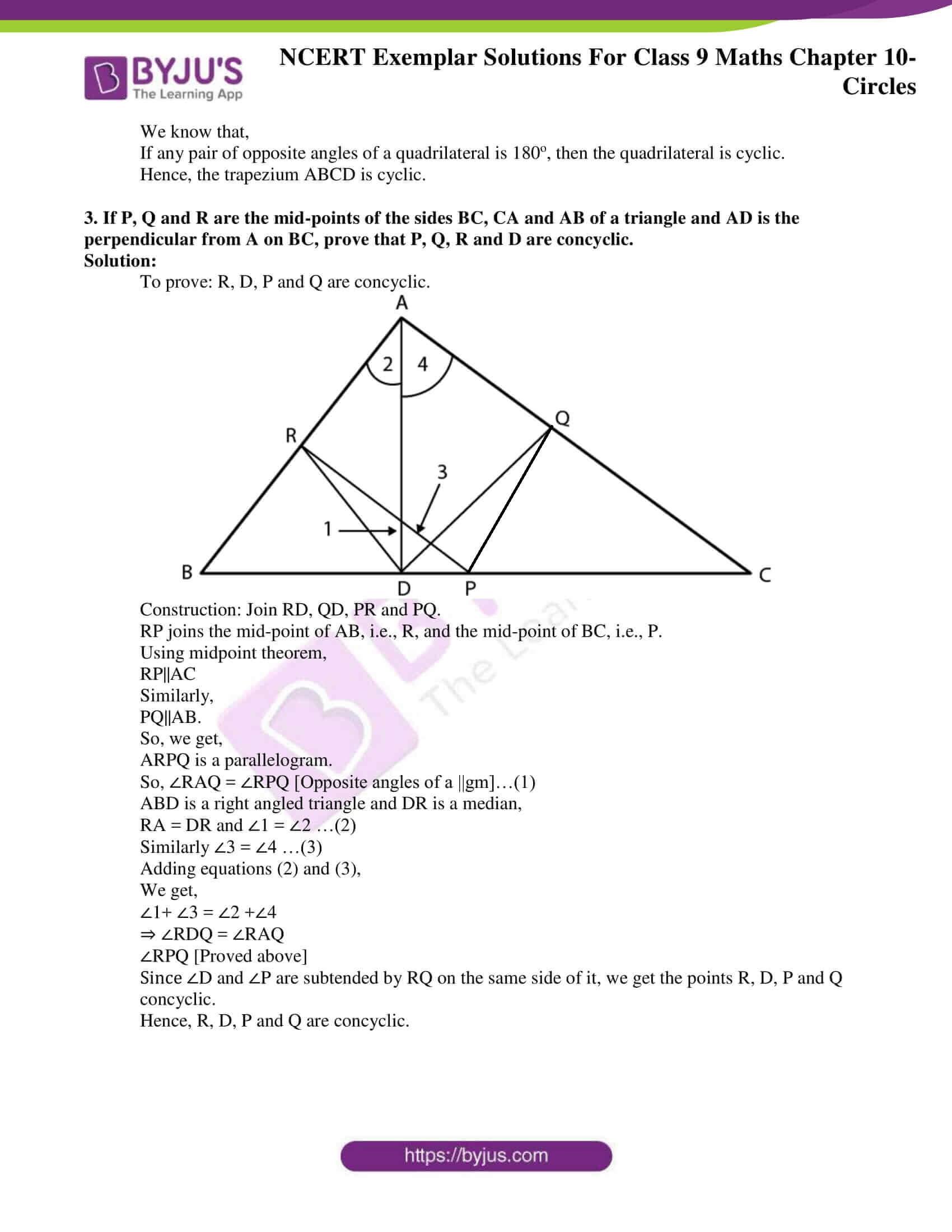 ncert exemplar solution class 9 maths chapter 10