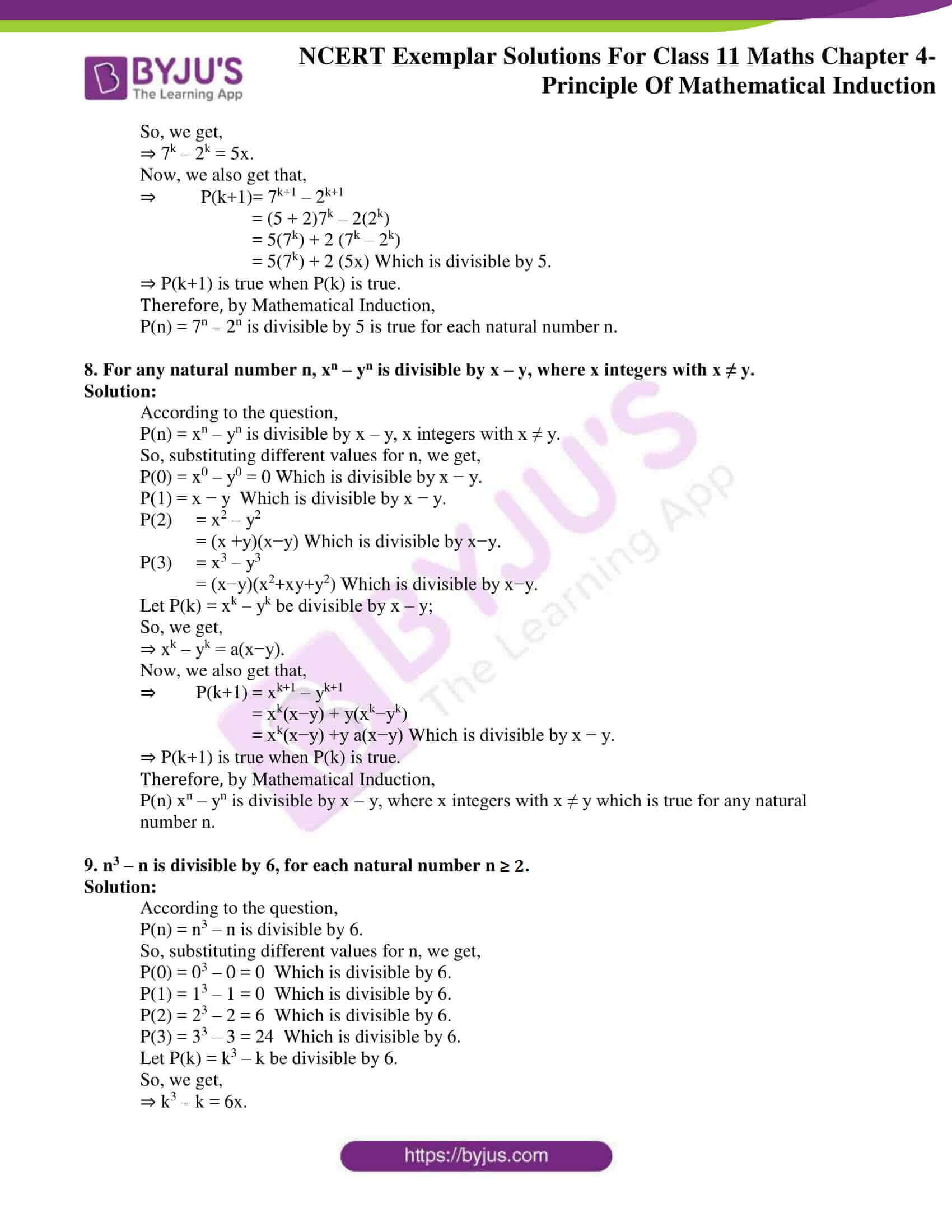 ncert exemplar solutions for class 11 maths chapter 4
