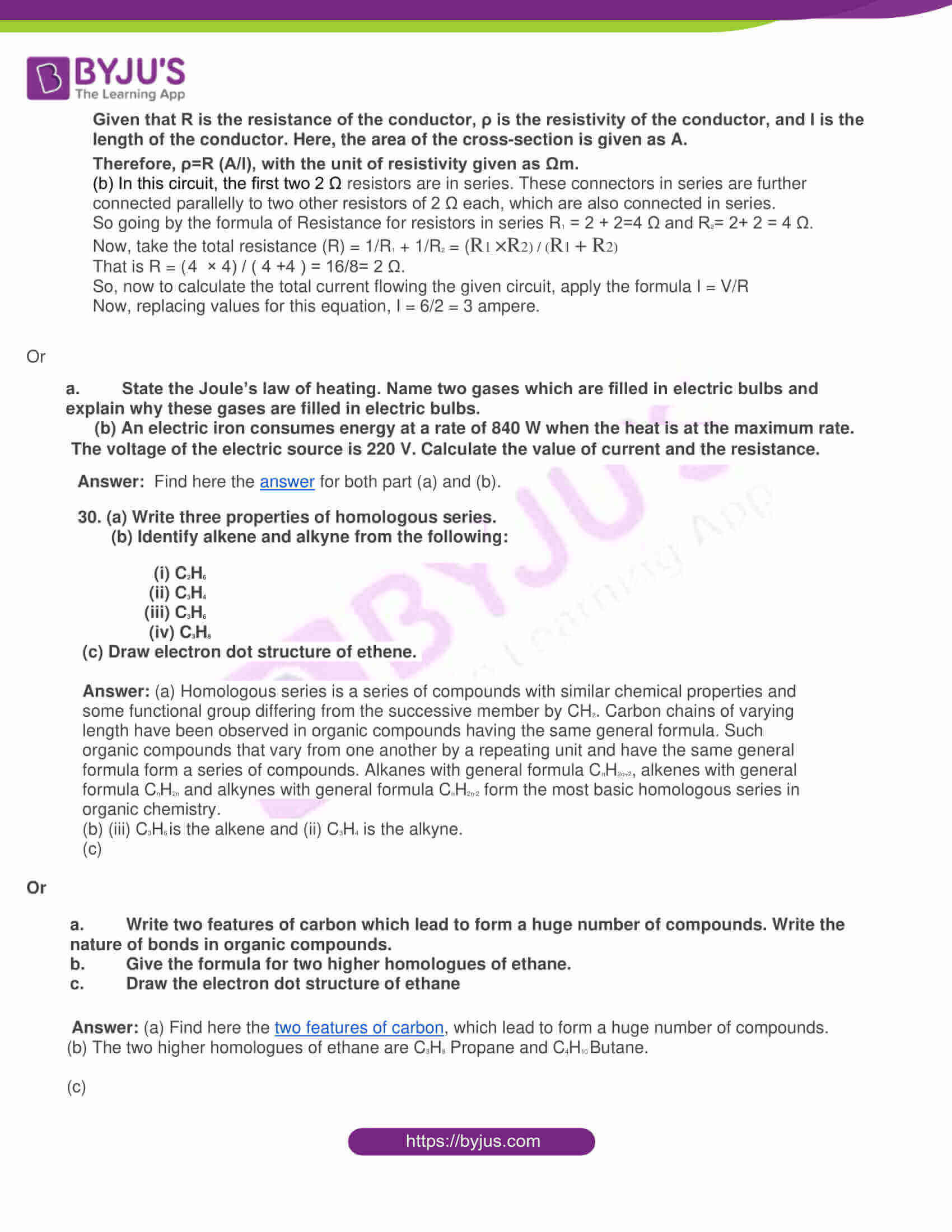 rajasthan board class 10 general science 2015 solutions 10