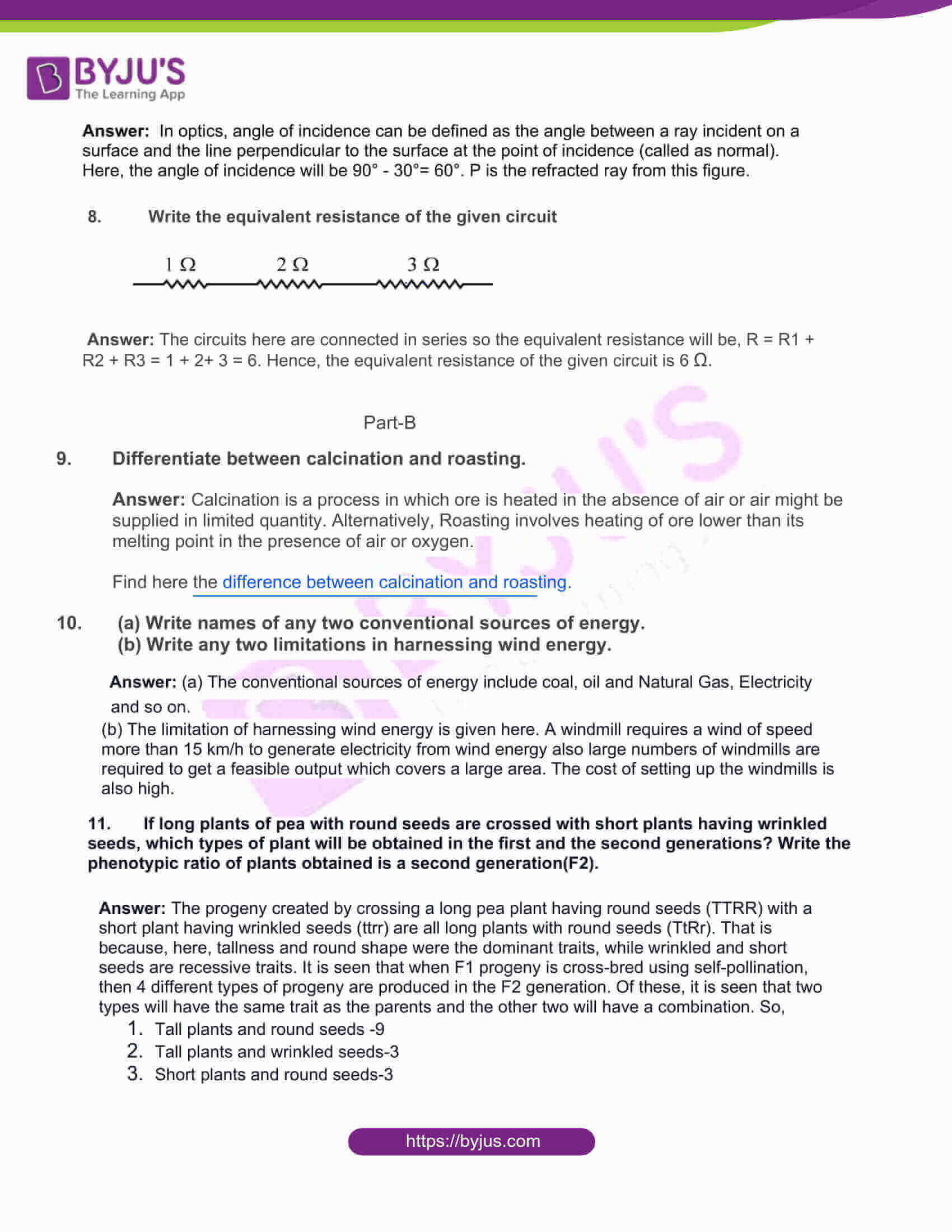 rajasthan board class 10 general science 2017 solutions 02