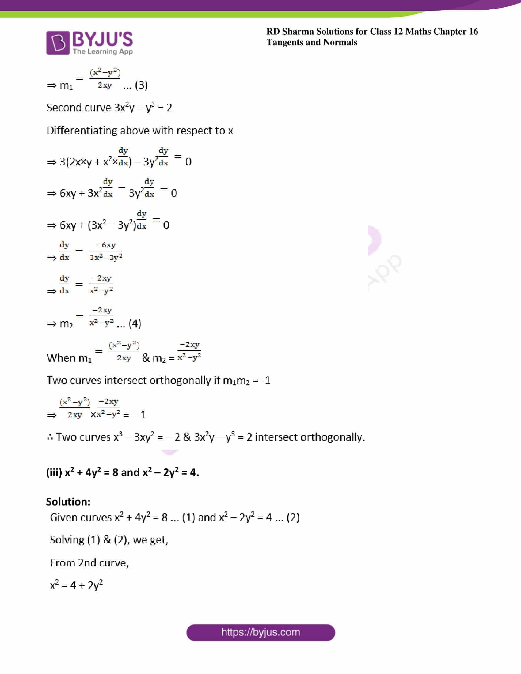 rd sharma class 12 maths solutions chapter 16 ex 3 16