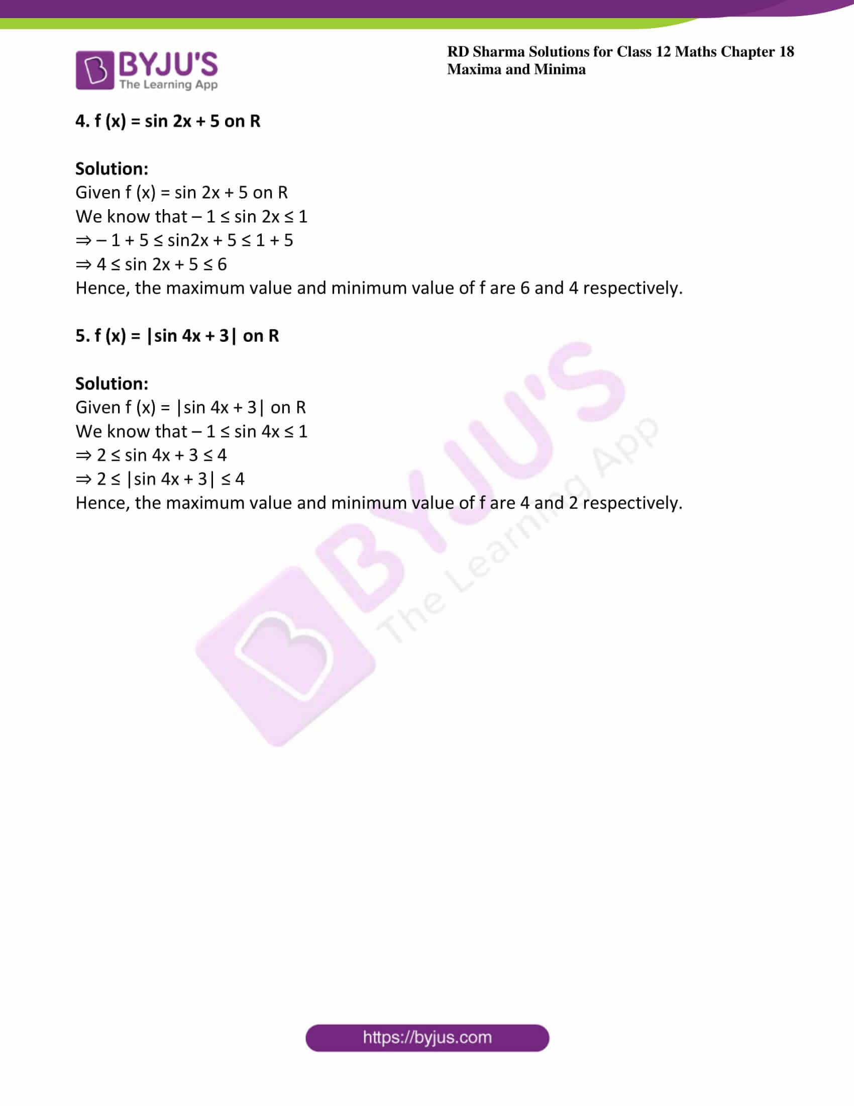 rd sharma class 12 maths solutions chapter 18 ex 1 2