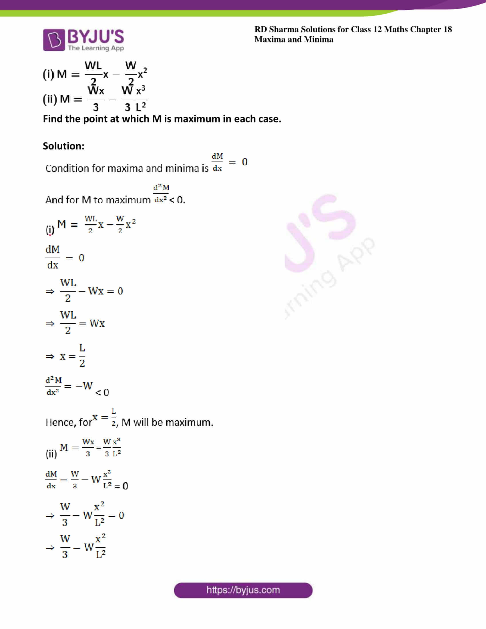 rd sharma class 12 maths solutions chapter 18 ex 5 06
