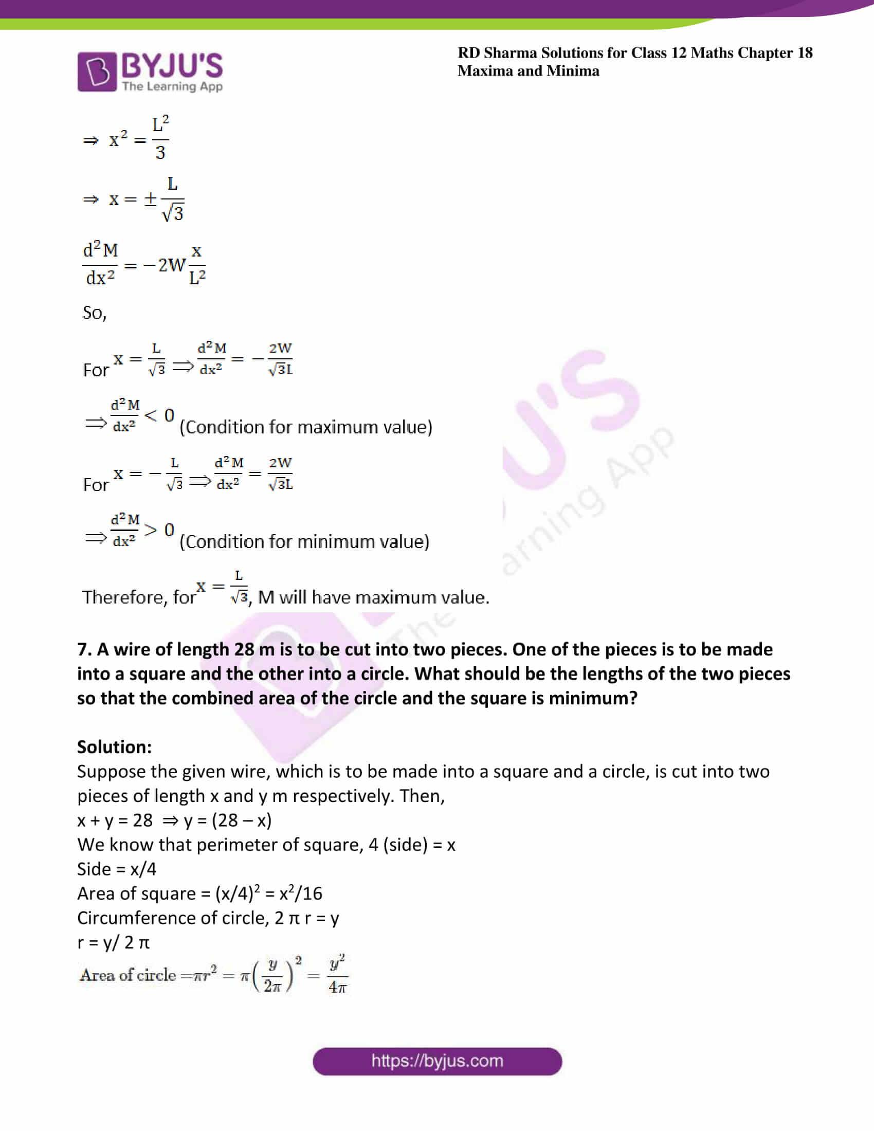 rd sharma class 12 maths solutions chapter 18 ex 5 07