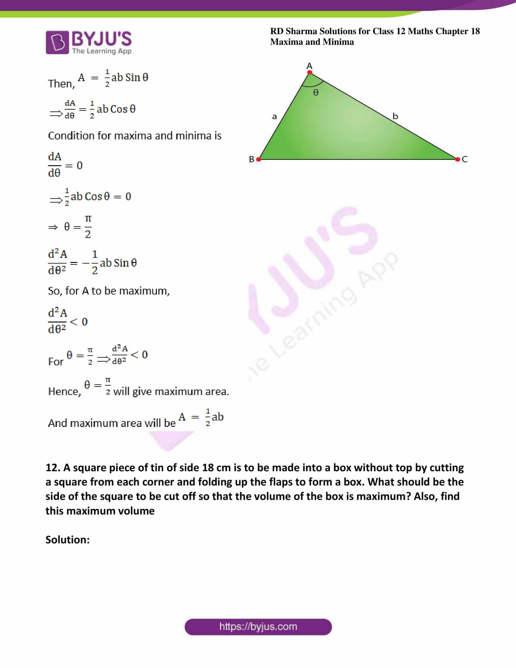 rd sharma class 12 maths solutions chapter 18 ex 5 15