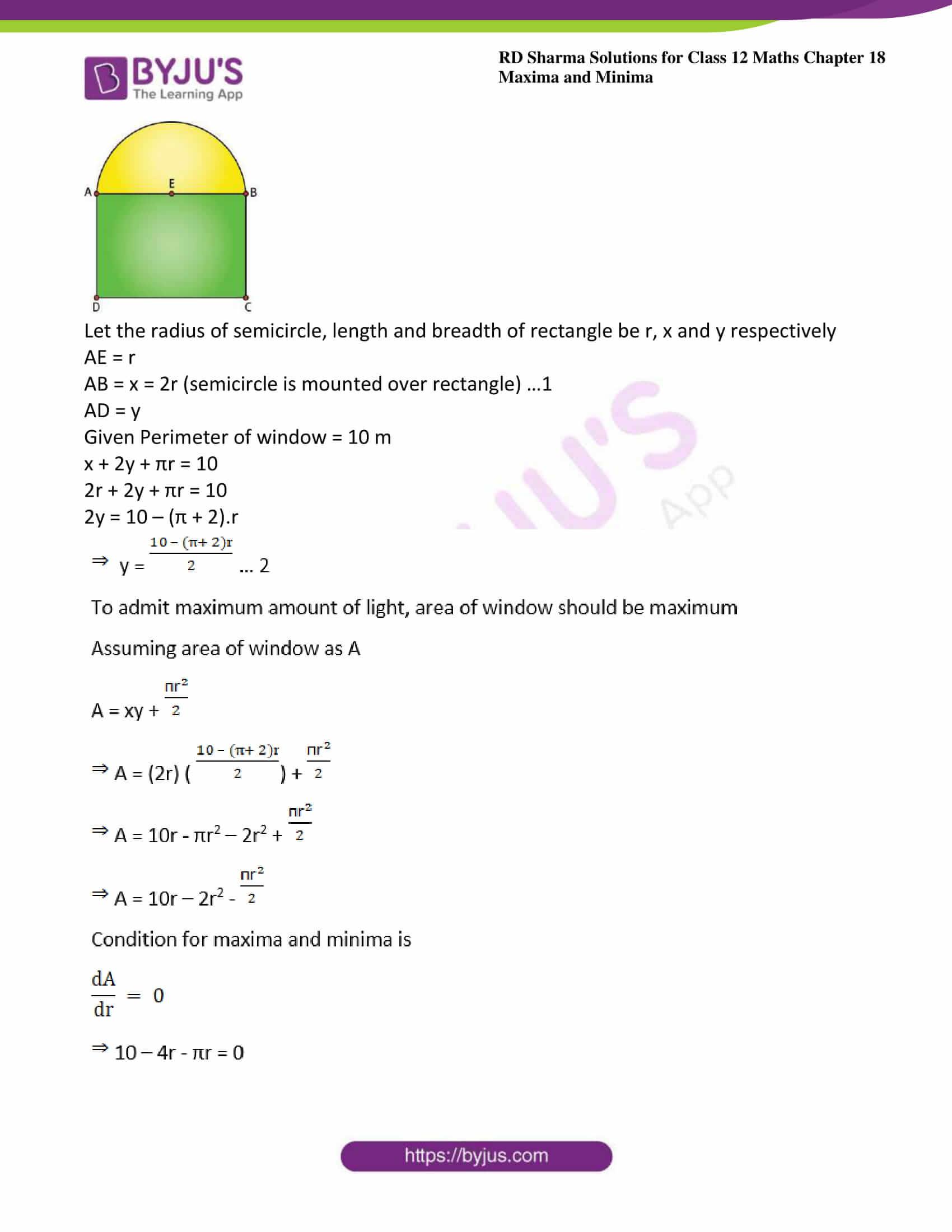 rd sharma class 12 maths solutions chapter 18 ex 5 20