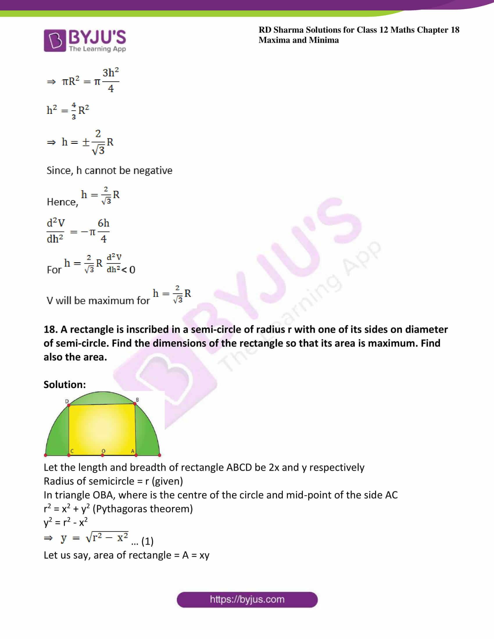 rd sharma class 12 maths solutions chapter 18 ex 5 24