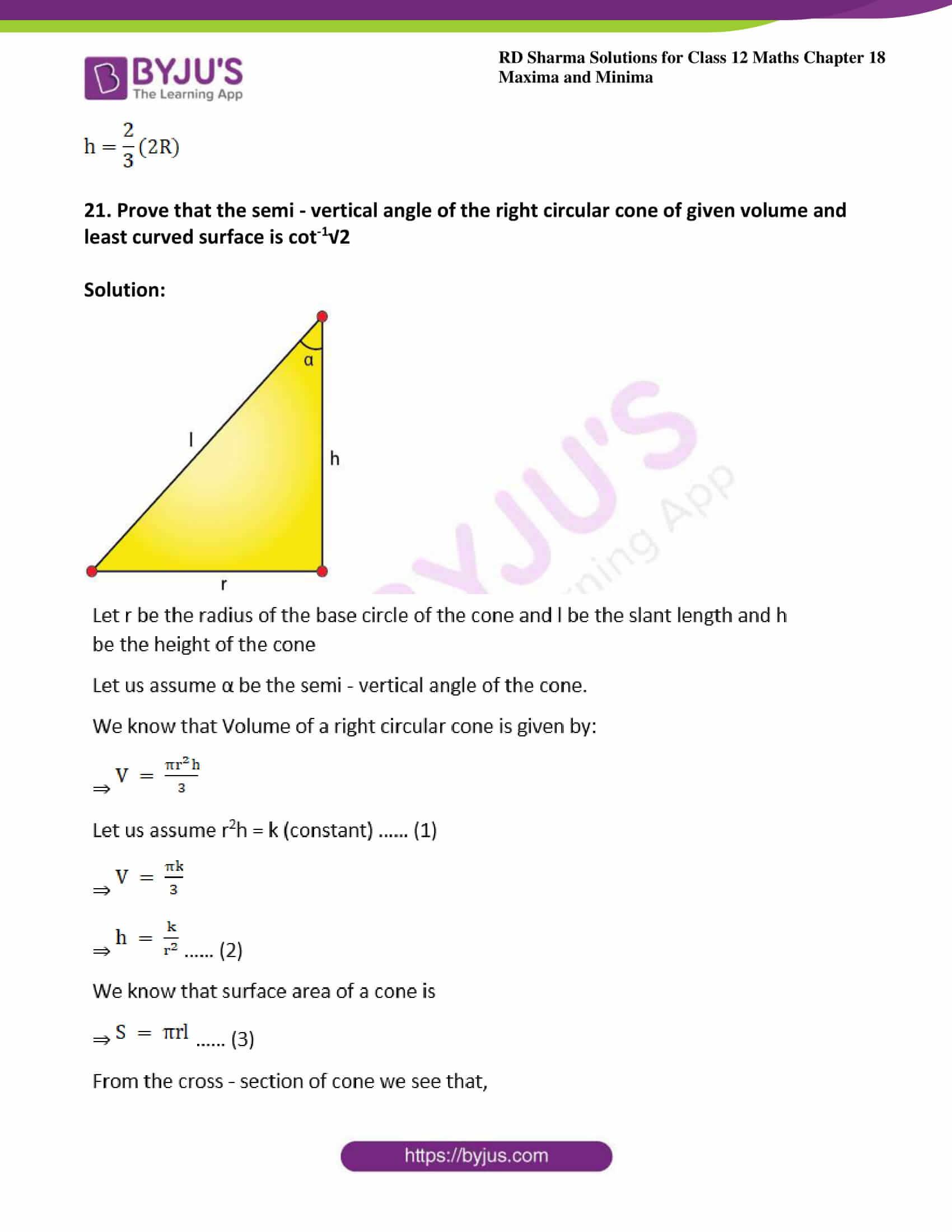 rd sharma class 12 maths solutions chapter 18 ex 5 29