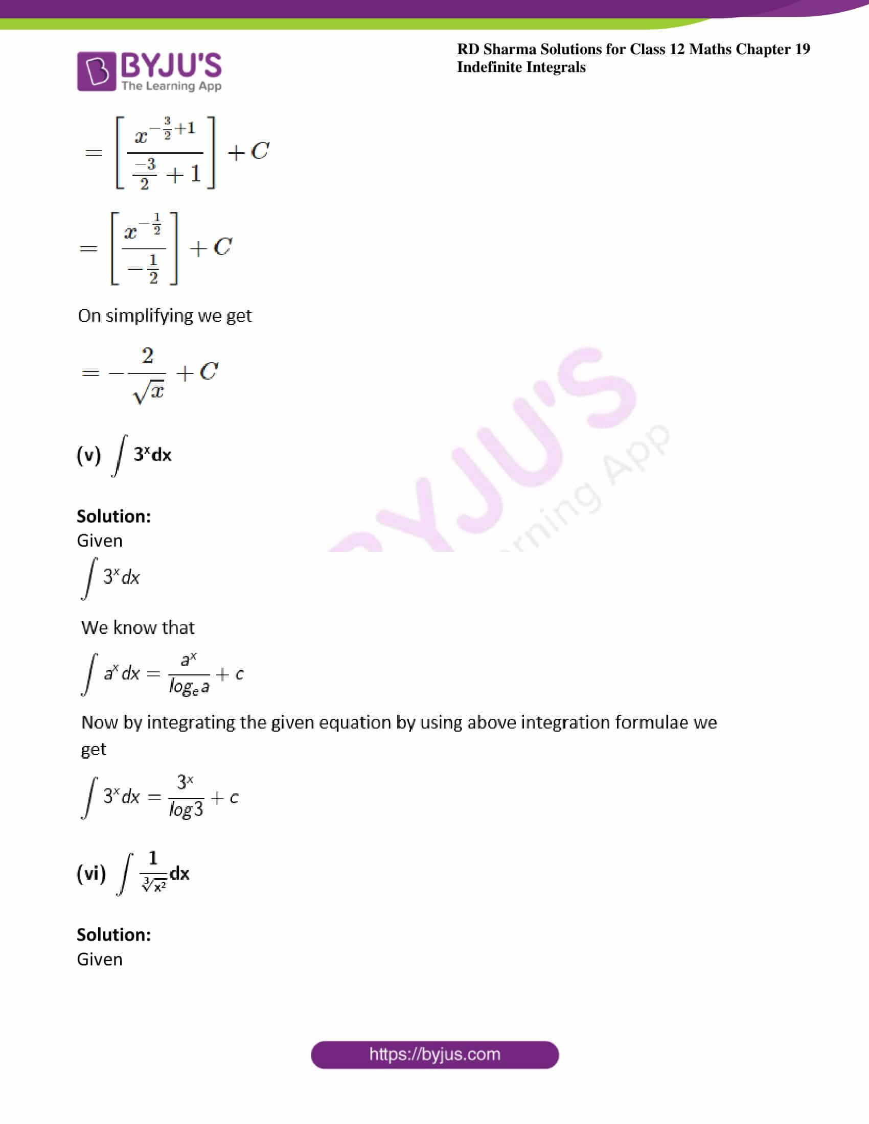 rd sharma class 12 maths solutions chapter 19 ex 1 3