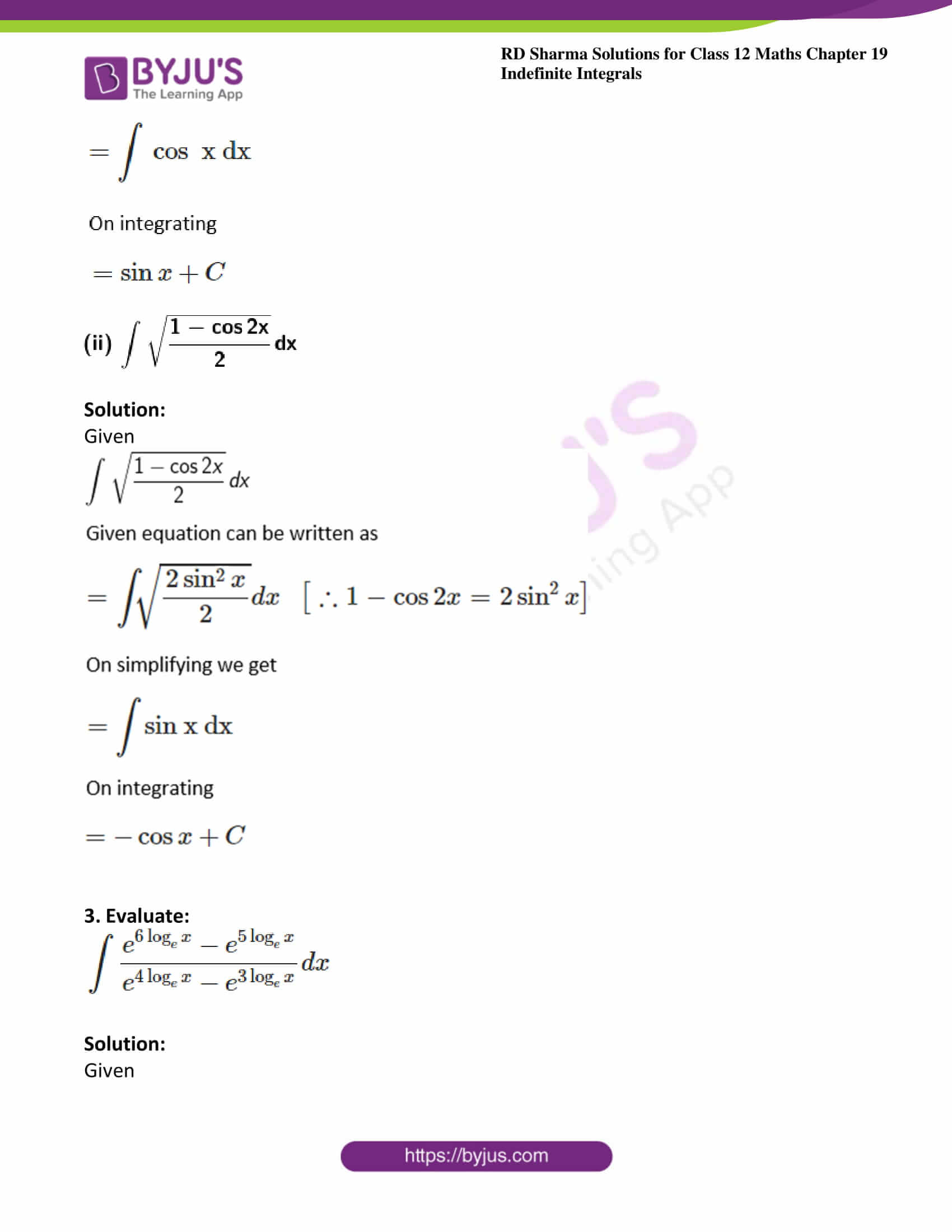 rd sharma class 12 maths solutions chapter 19 ex 1 6