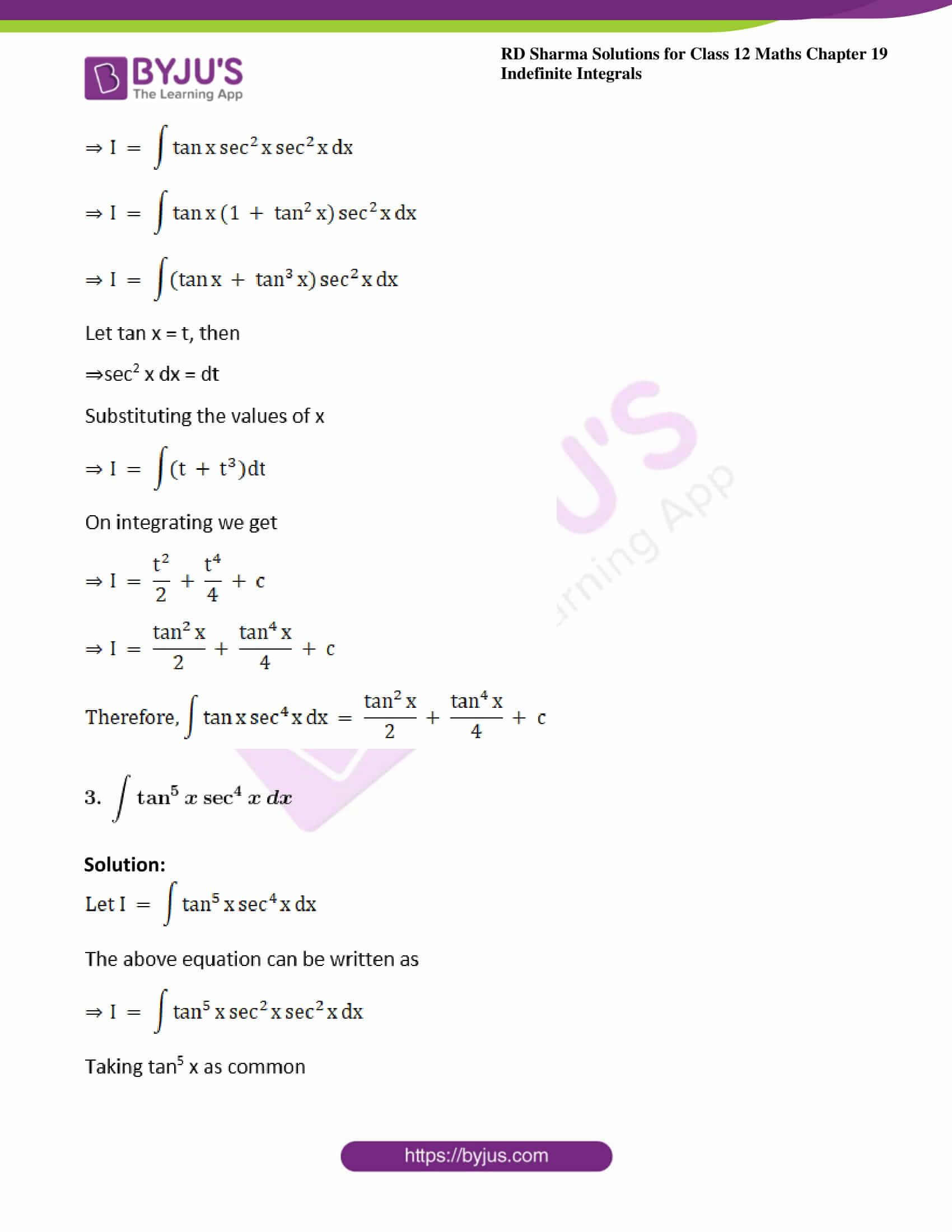 rd sharma class 12 maths solutions chapter 19 ex 11 2